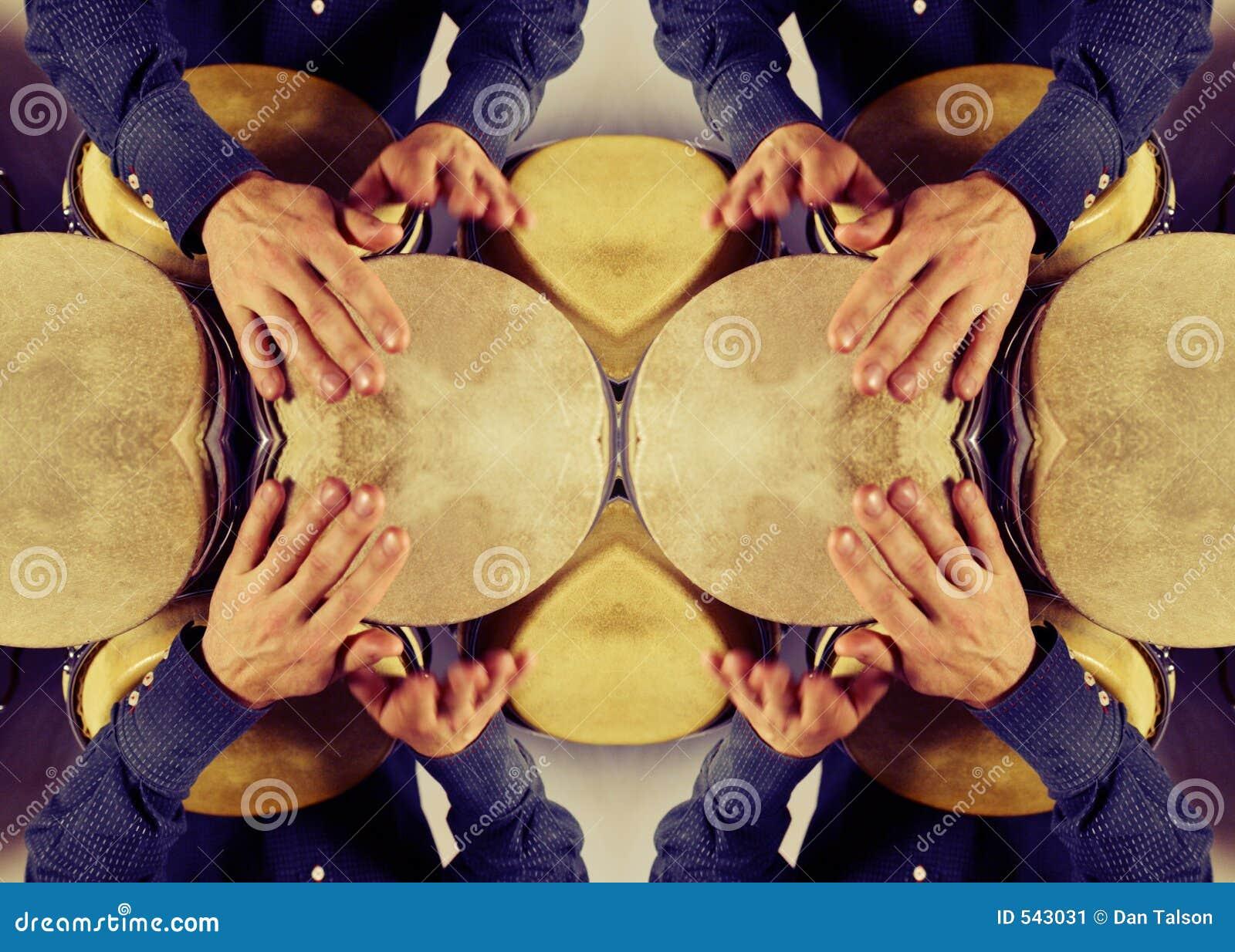 Teste padrão do baterista