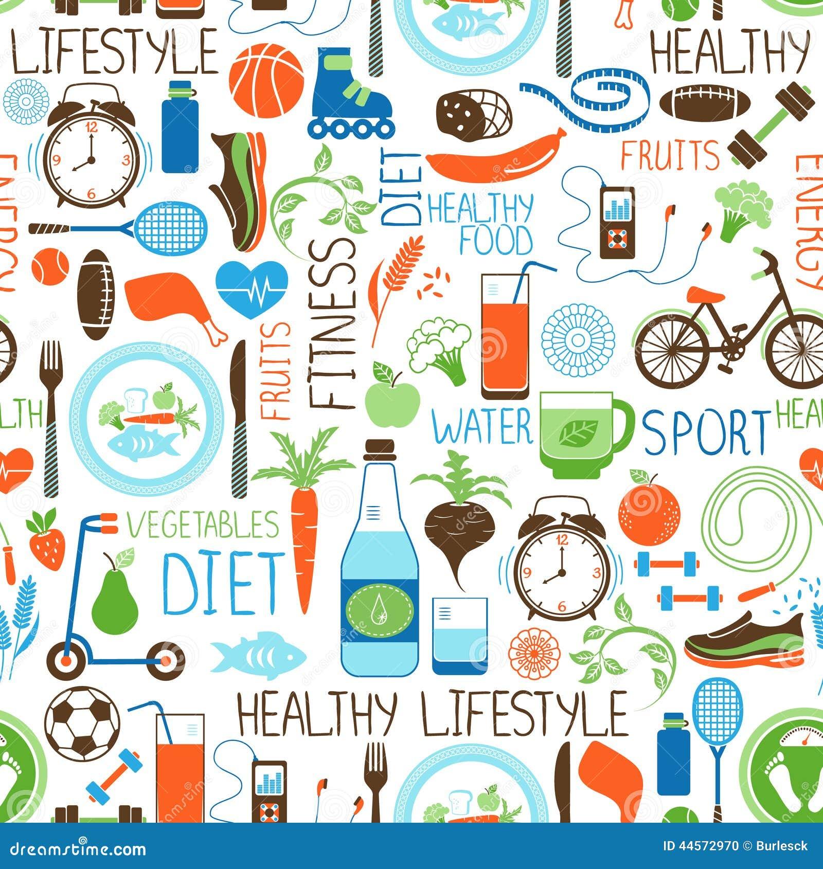 Teste padrão do esporte, da dieta e da aptidão