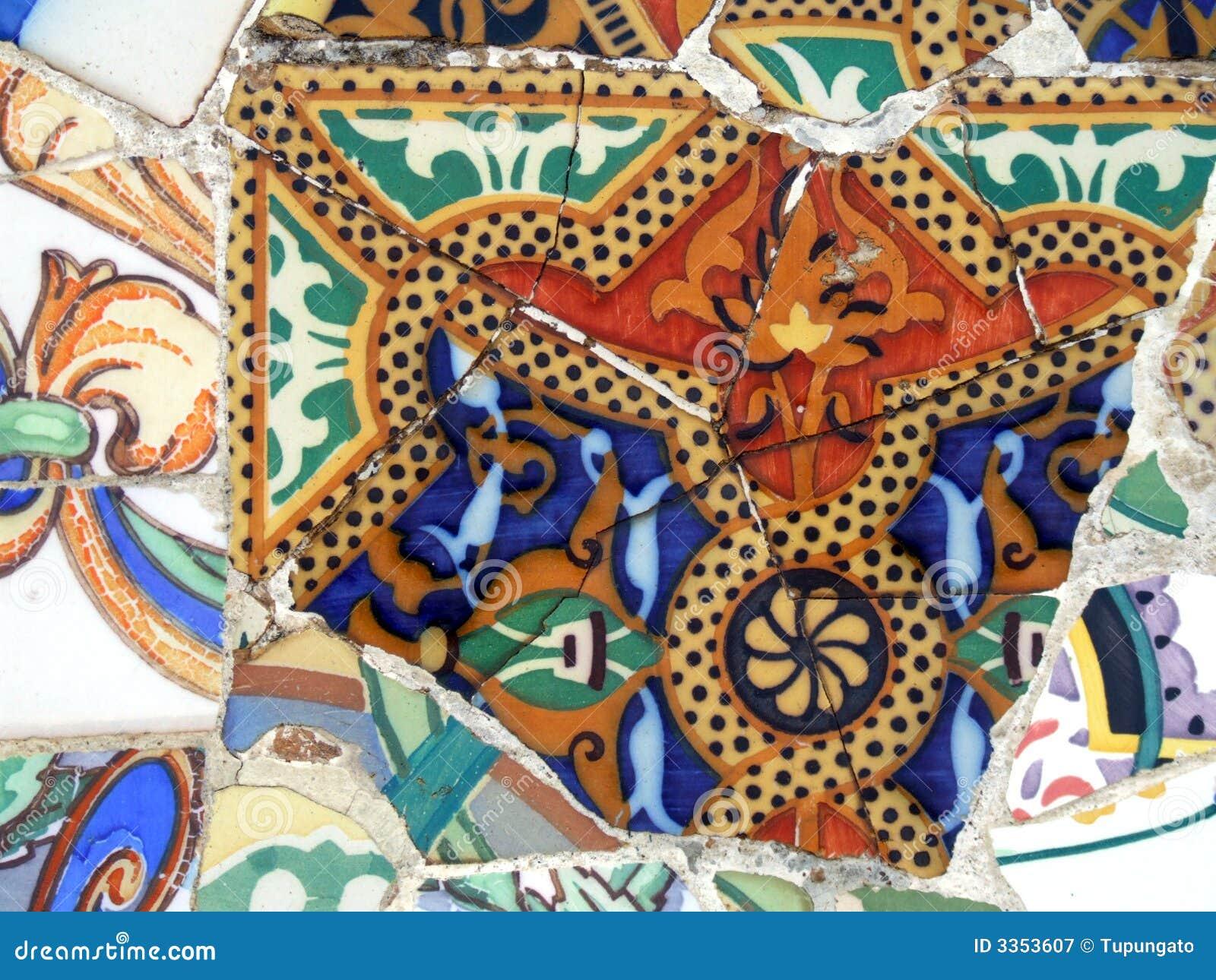 Teste padrão do mosaico