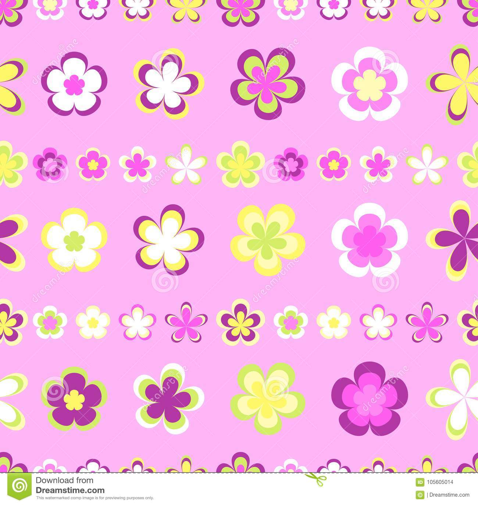 Teste padrão listrado abstrato sem emenda de geométrico cor-de-rosa e marrom bonito