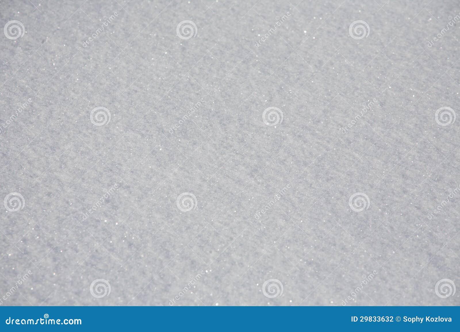 Superfície da neve