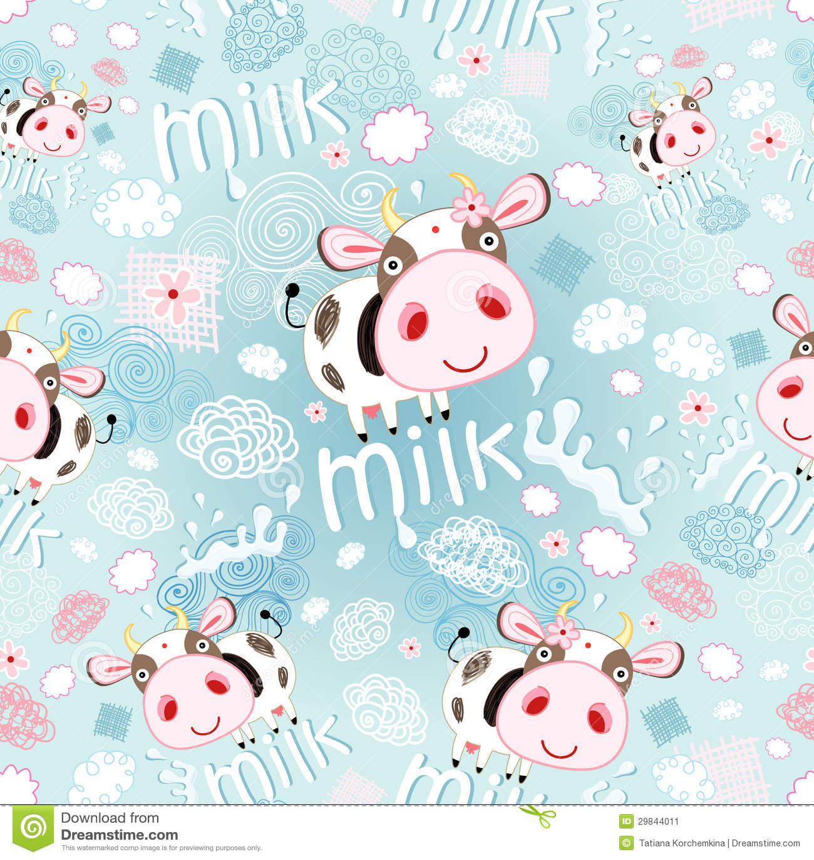 Textura das vacas e do leite