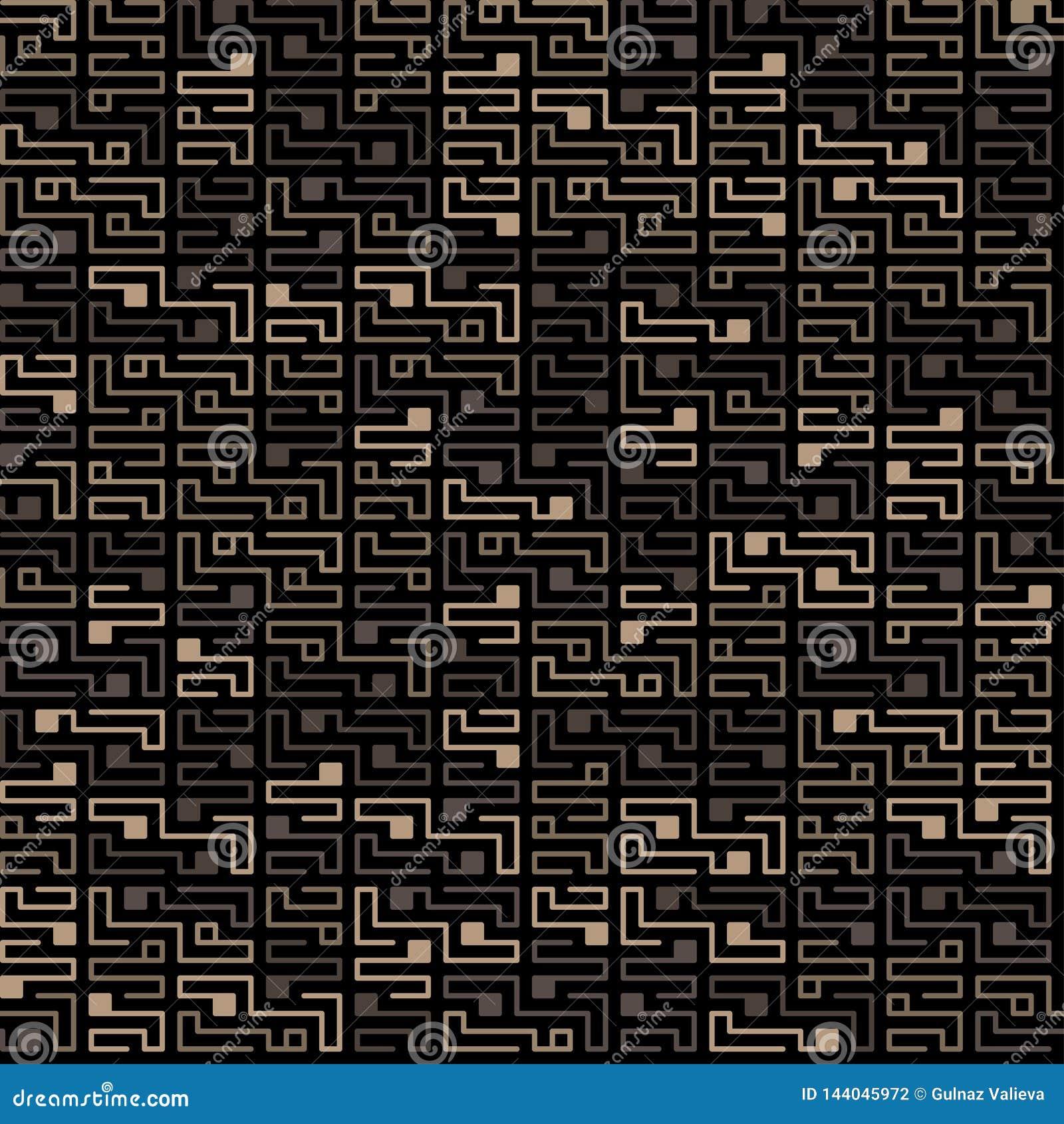 Teste padrão sem emenda da microplaqueta do vetor em um fundo escuro