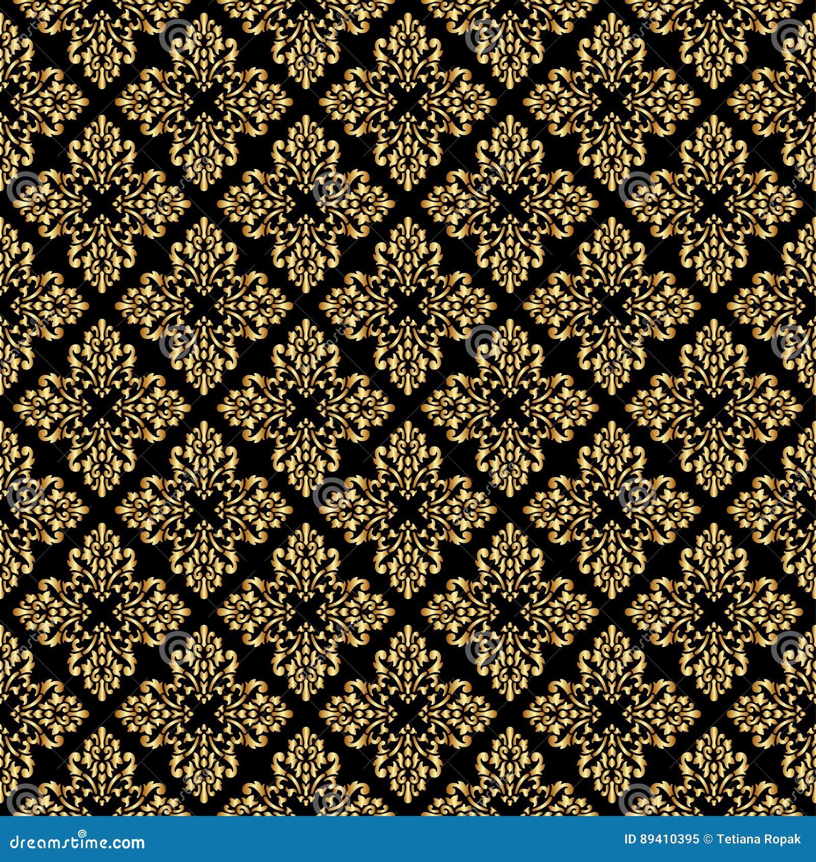 Teste padrão sem emenda da rainha bonita com elementos do ornamento da flor de lis no fundo escuro Real assina dentro o estilo do