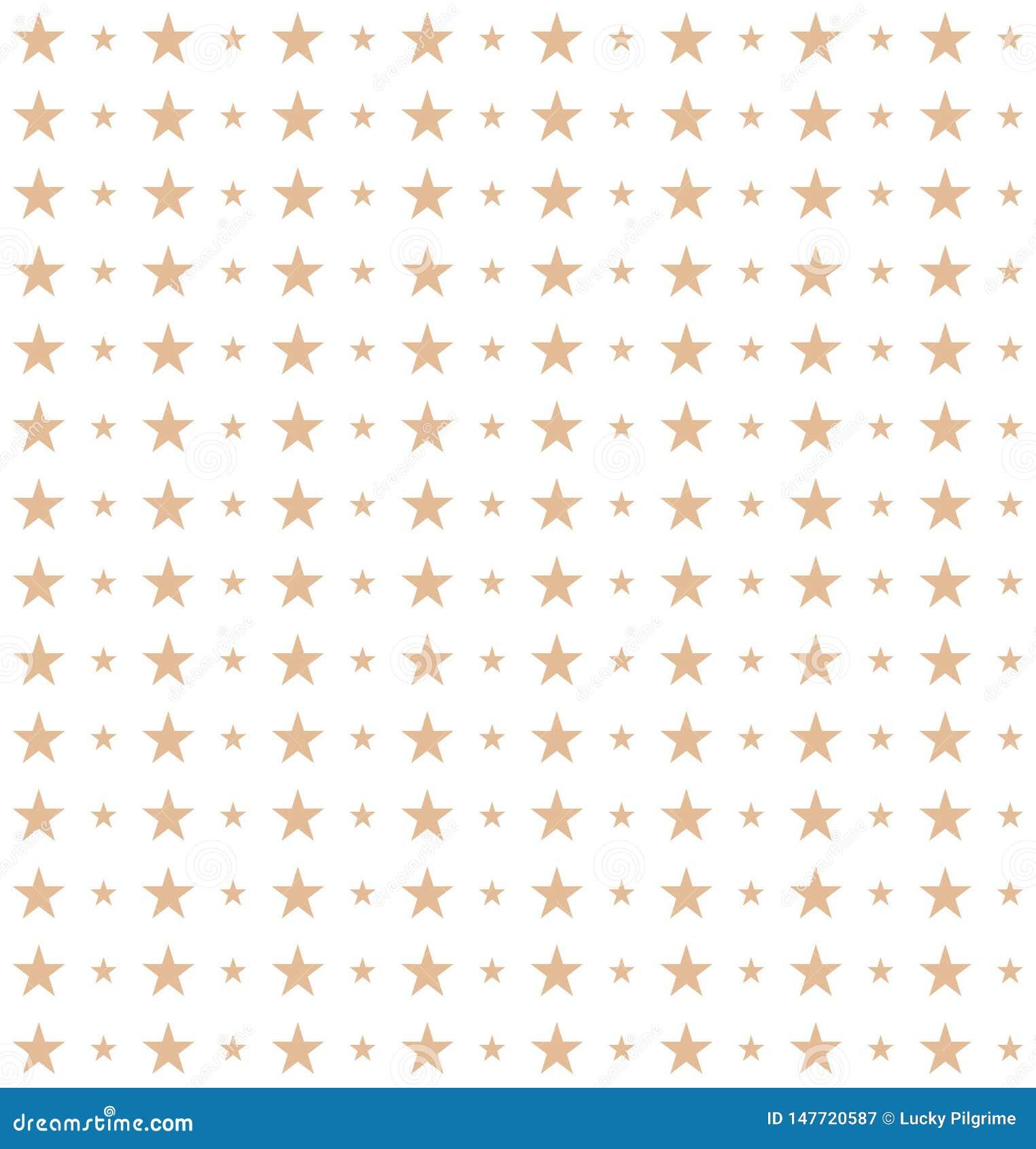 Teste padrão sem emenda das estrelas feitas no vetor