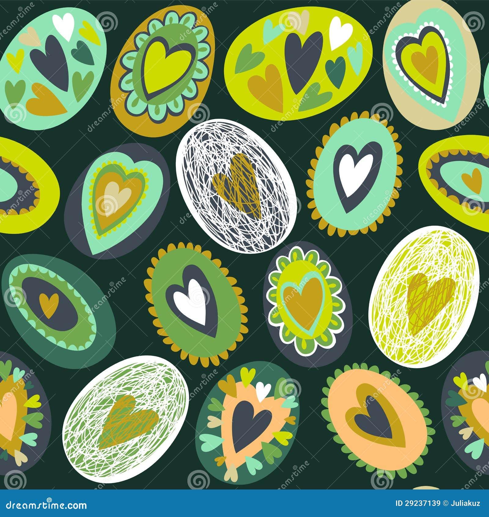 Download Teste Padrão Sem Emenda Do Ovo Da Páscoa Ilustração do Vetor - Ilustração de cartão, decorado: 29237139