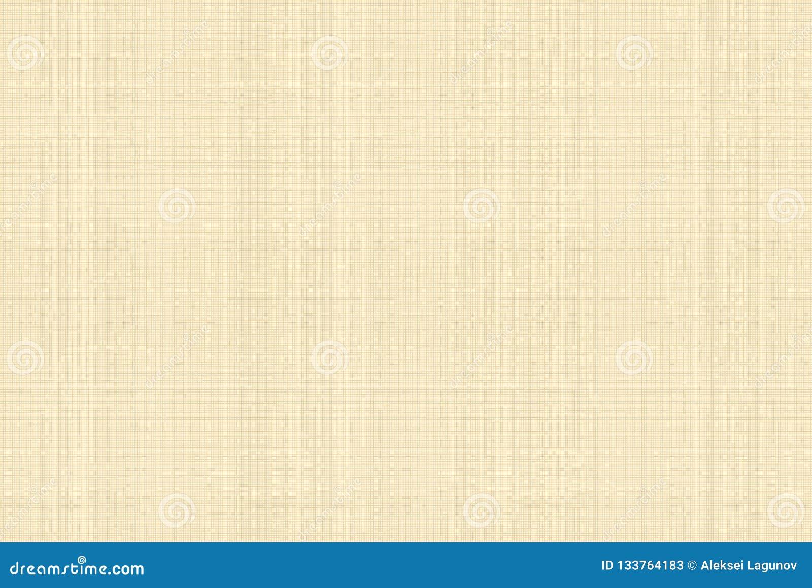 Teste padrão sem emenda do vetor, textura de linho do algodão, cor morna clara
