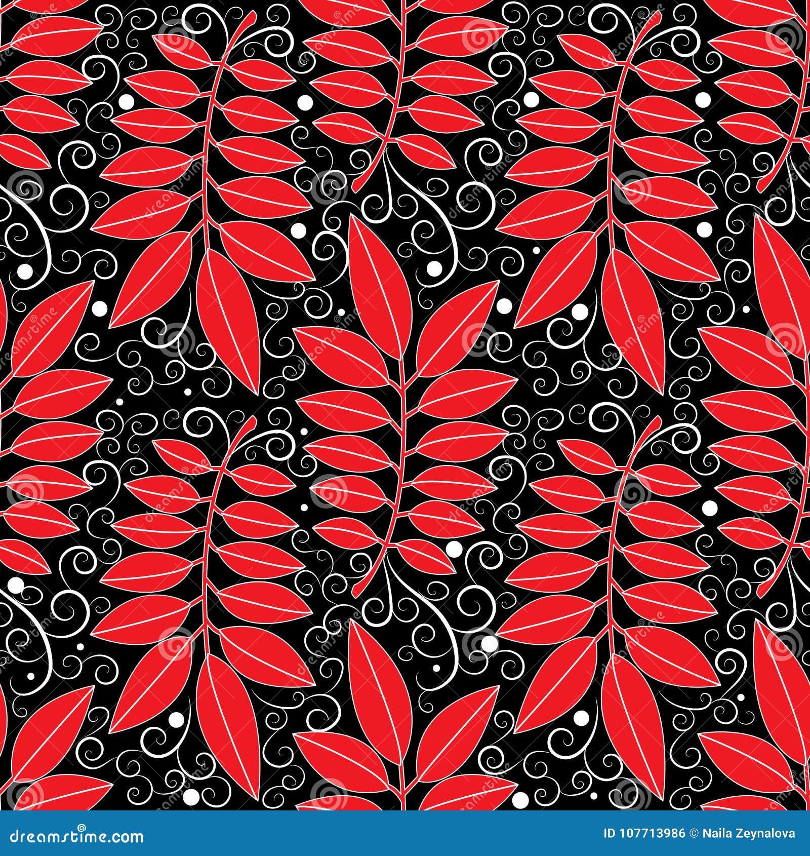 Teste padrão sem emenda do vintage floral Backgroun abstrato do preto do vetor