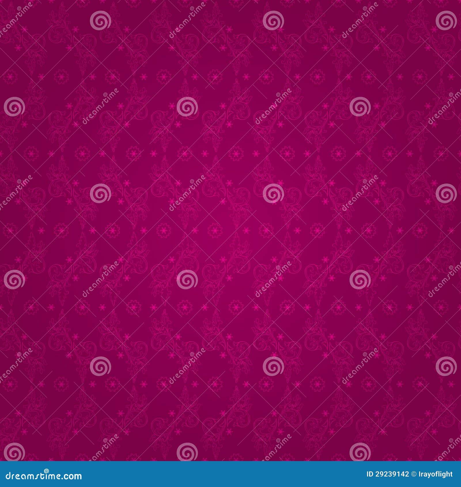 Download Teste Padrão Sem Emenda Do Vintage Floral Em Um Fundo Cor-de-rosa Ilustração do Vetor - Ilustração de espantar, cartão: 29239142