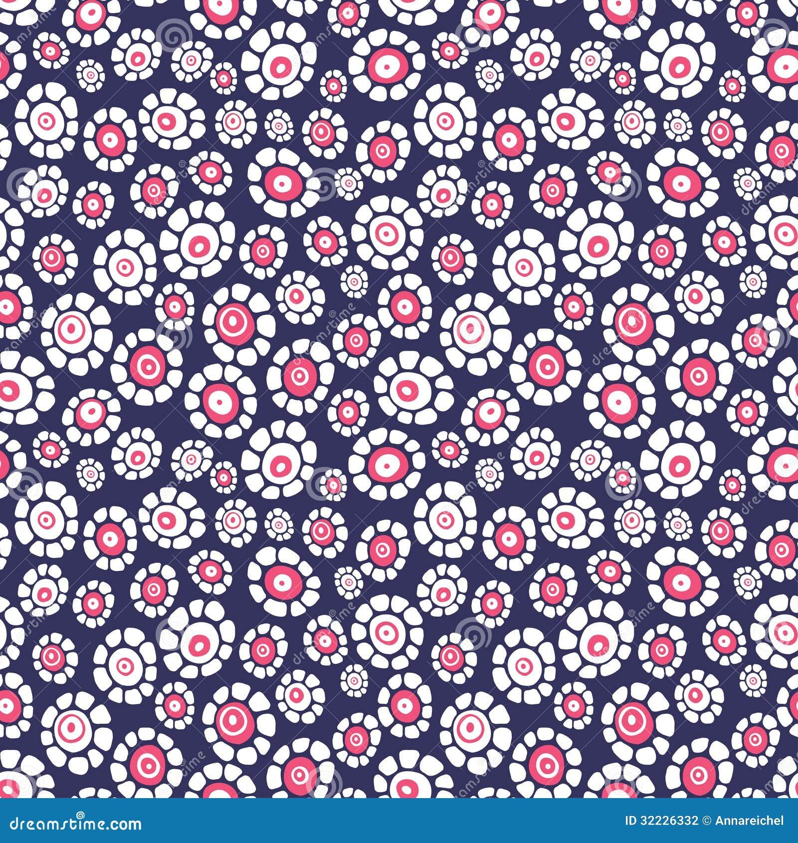 Download Teste Padrão Sem Emenda Floral Ilustração do Vetor - Ilustração de decoração, ornate: 32226332