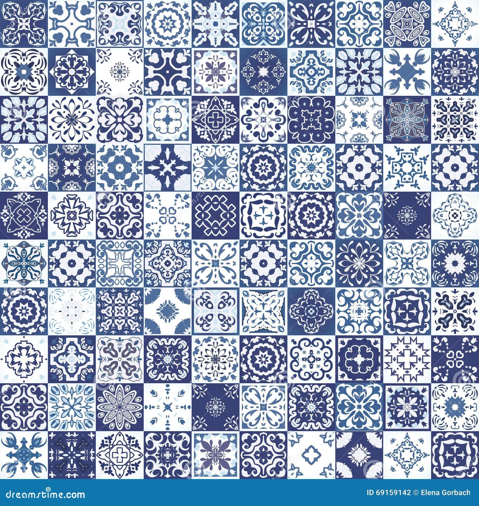 Teste padrão sem emenda lindo mega dos retalhos das telhas marroquinas coloridas, ornamento Pode ser usado para o papel de parede