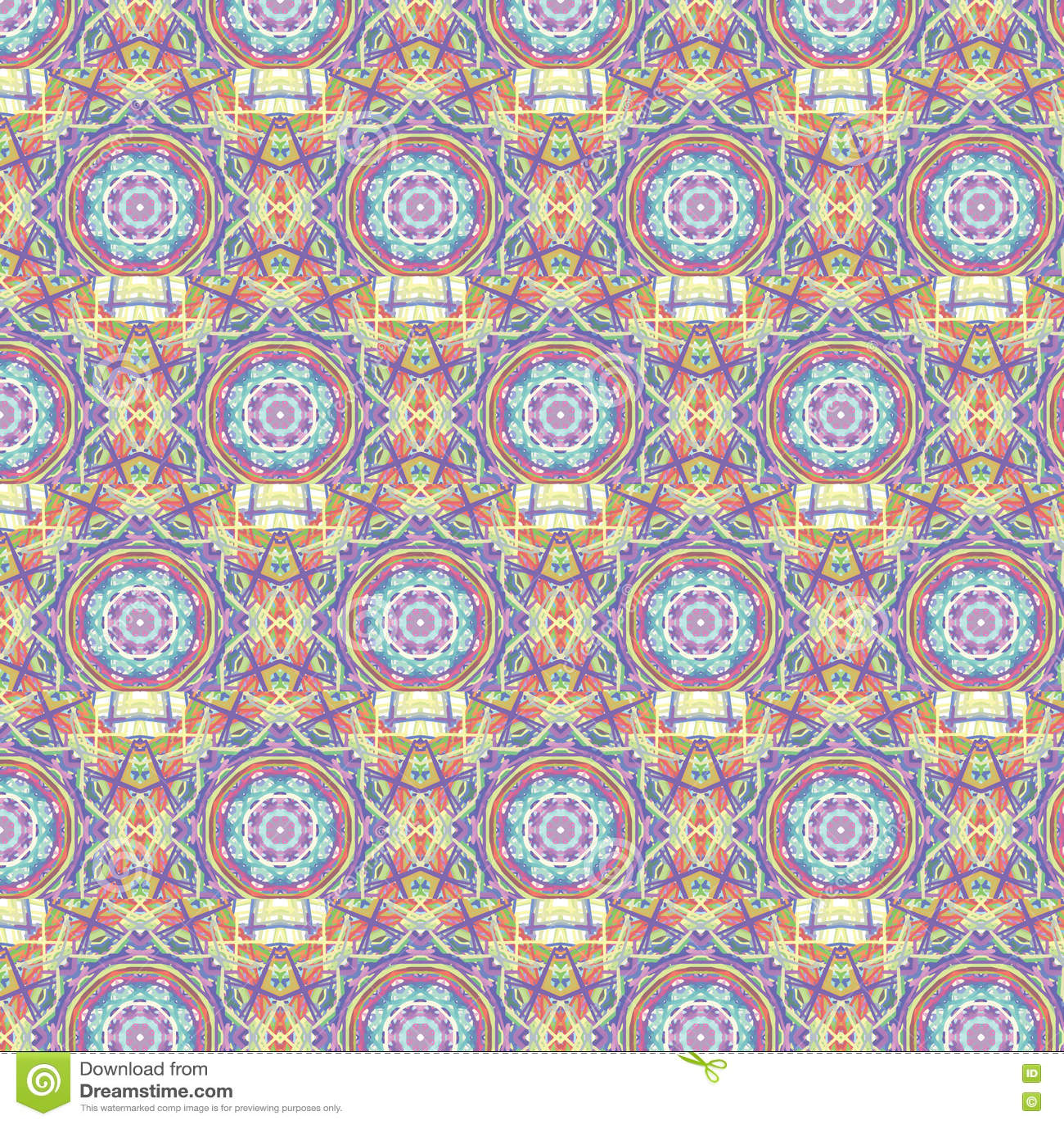 Teste padrão sem emenda marroquino calidoscópico