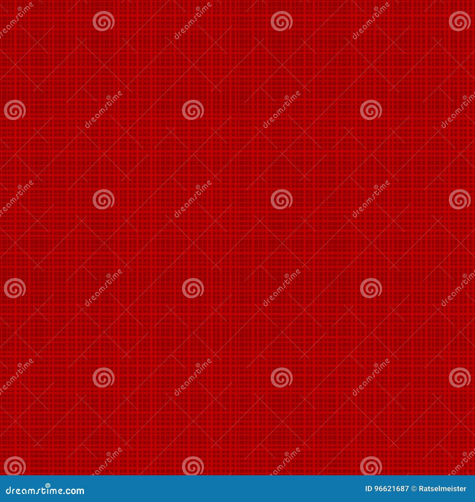 Teste padrão sem emenda vermelho da repetição da textura da lona ou da tela