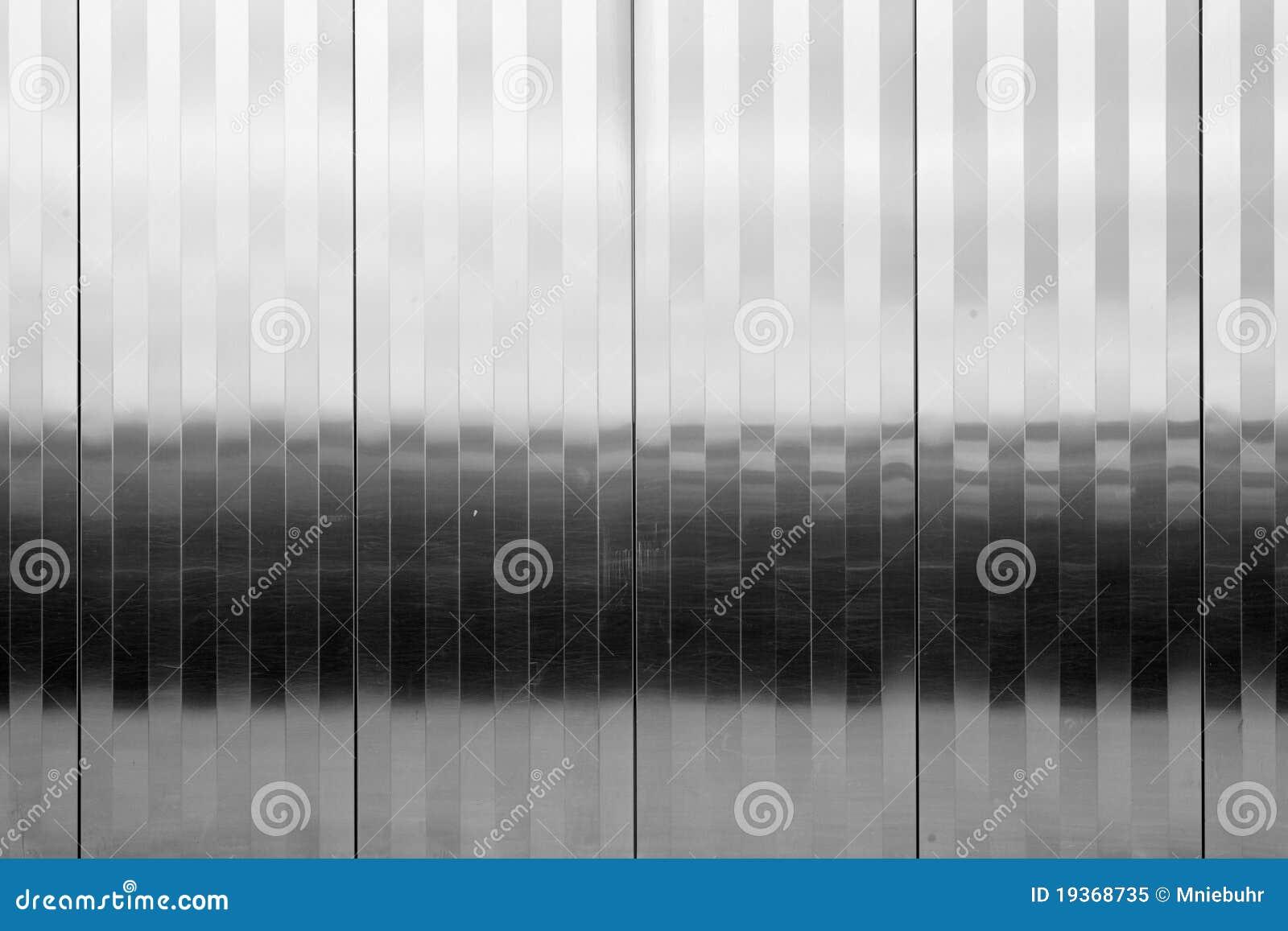 Teste padrão Textured do vertical do painel do aço inoxidável