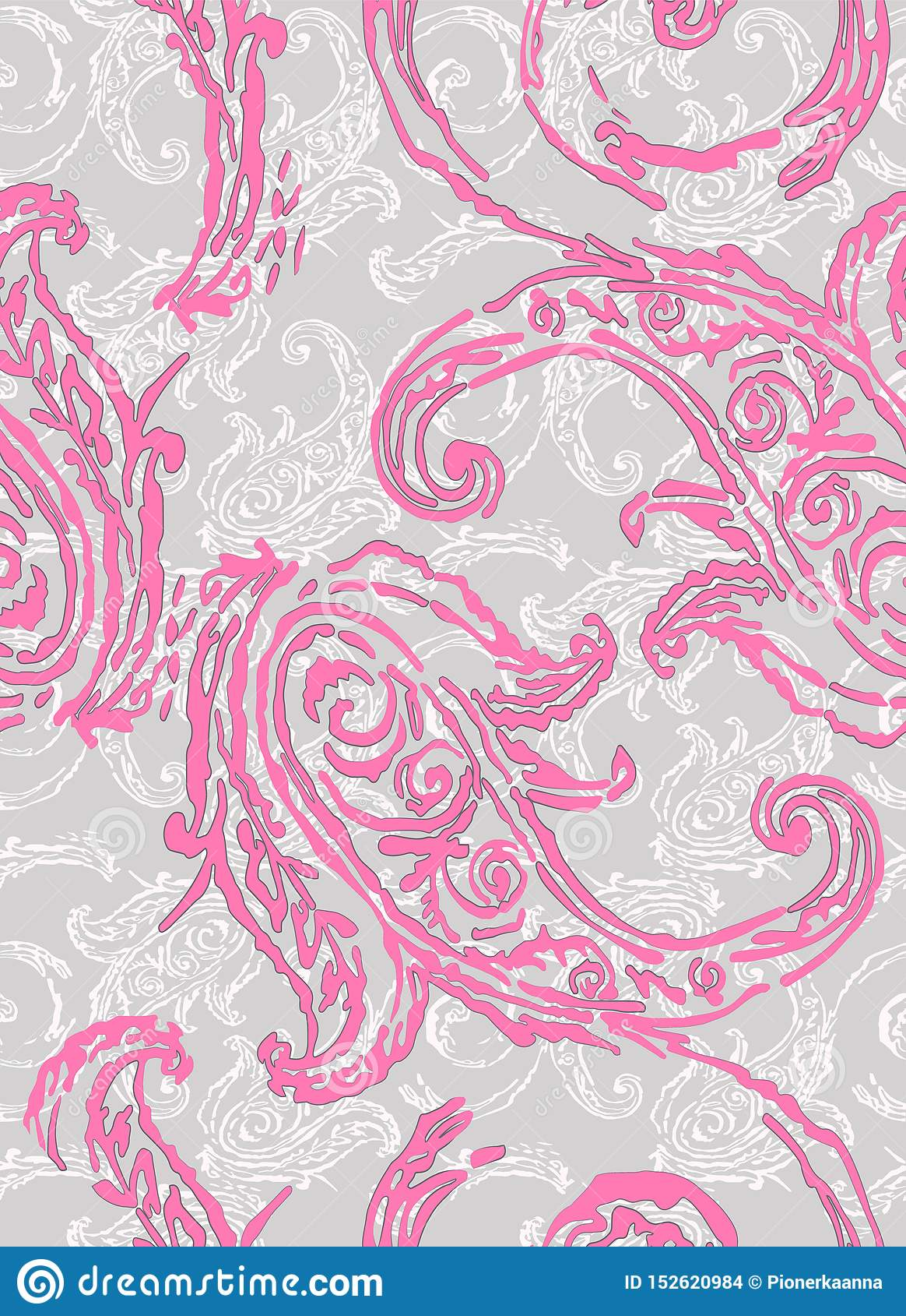 Teste padr?o de Paisley Elementos étnicos tradicionais Pepino turco do ornamento sem emenda Motivos asiáticos para a forma, inter