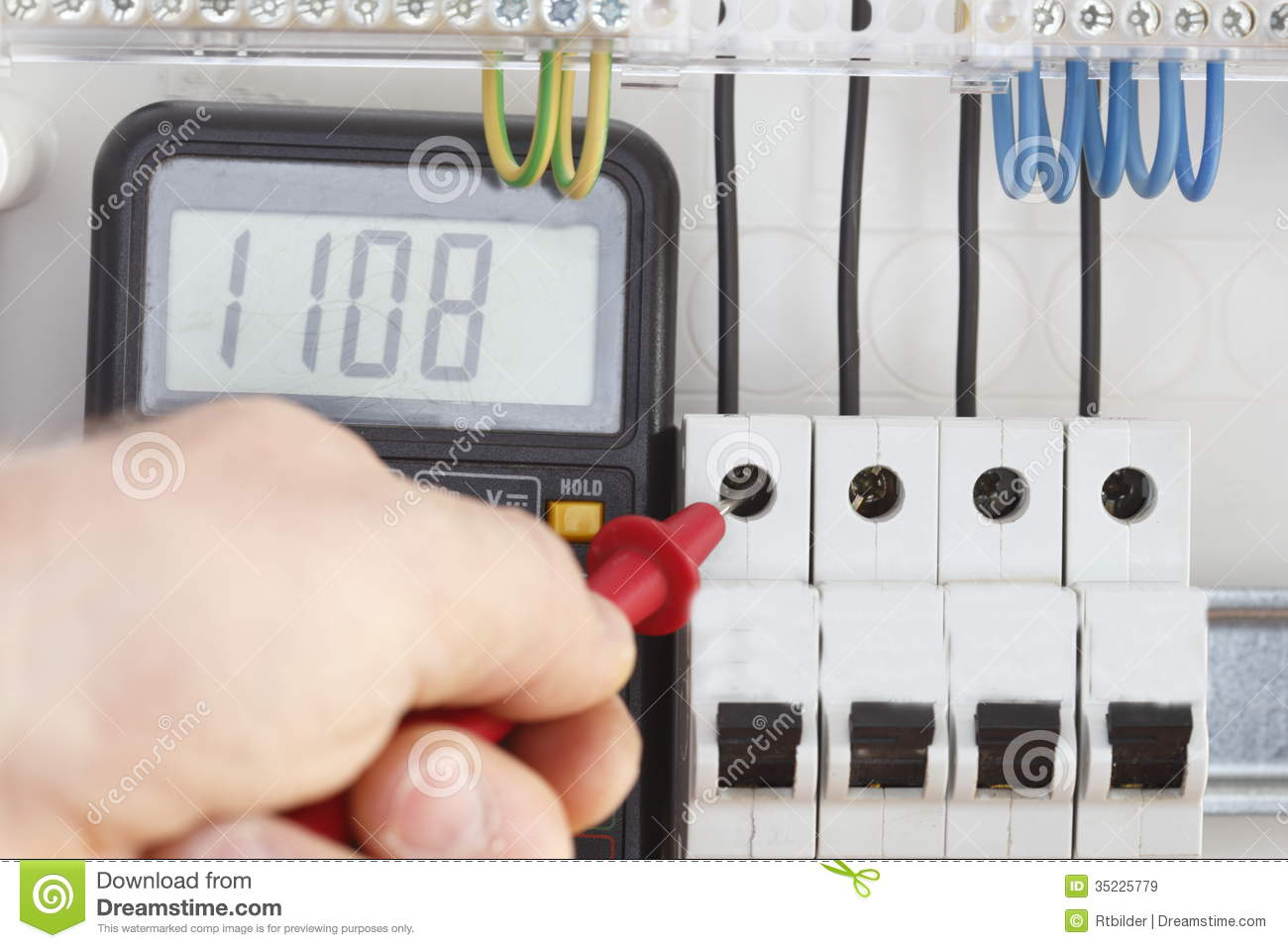 How A Circuit Tester Works : Tester on work royalty free stock images image