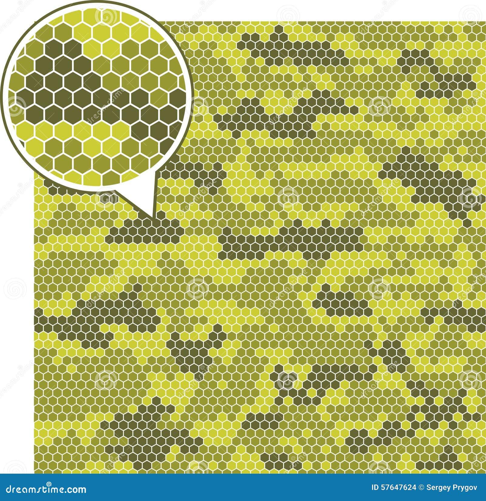 Testes padrões sem emenda da camuflagem de Digitas