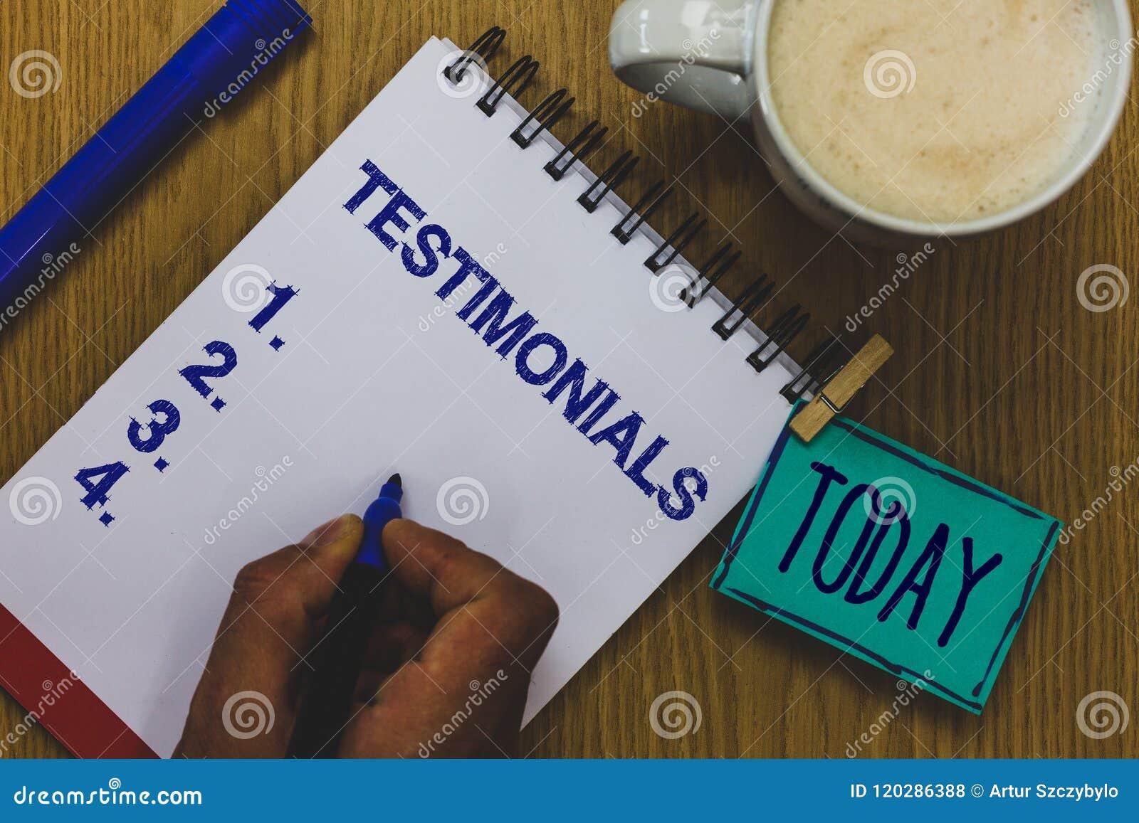 Testimonianze del testo della scrittura Esperienza convenzionale di dichiarazione di approvazione dei clienti di significato di c