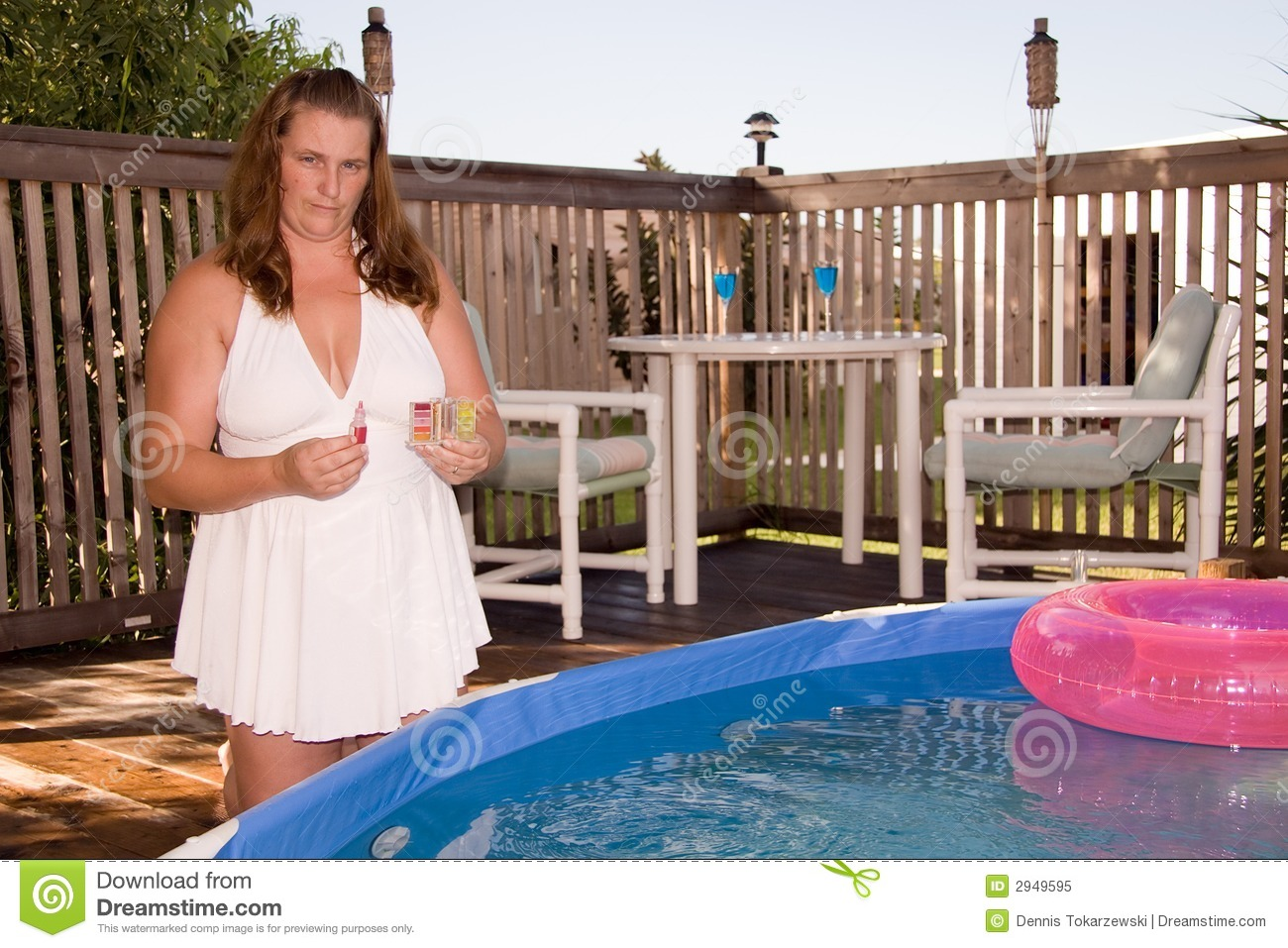Testing Pool Water Royalty Free Stock Photo Image 2949595