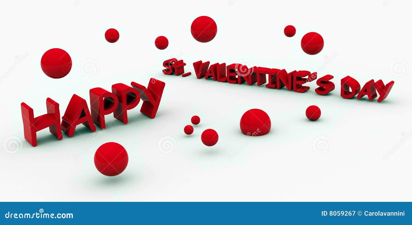 Testo dei biglietti di S. Valentino della st