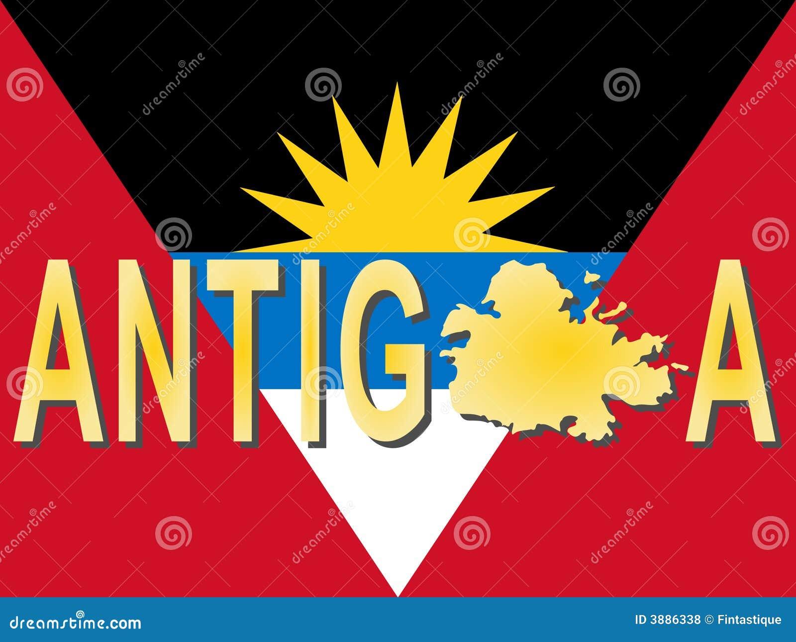 Testo dell Antigua con il programma
