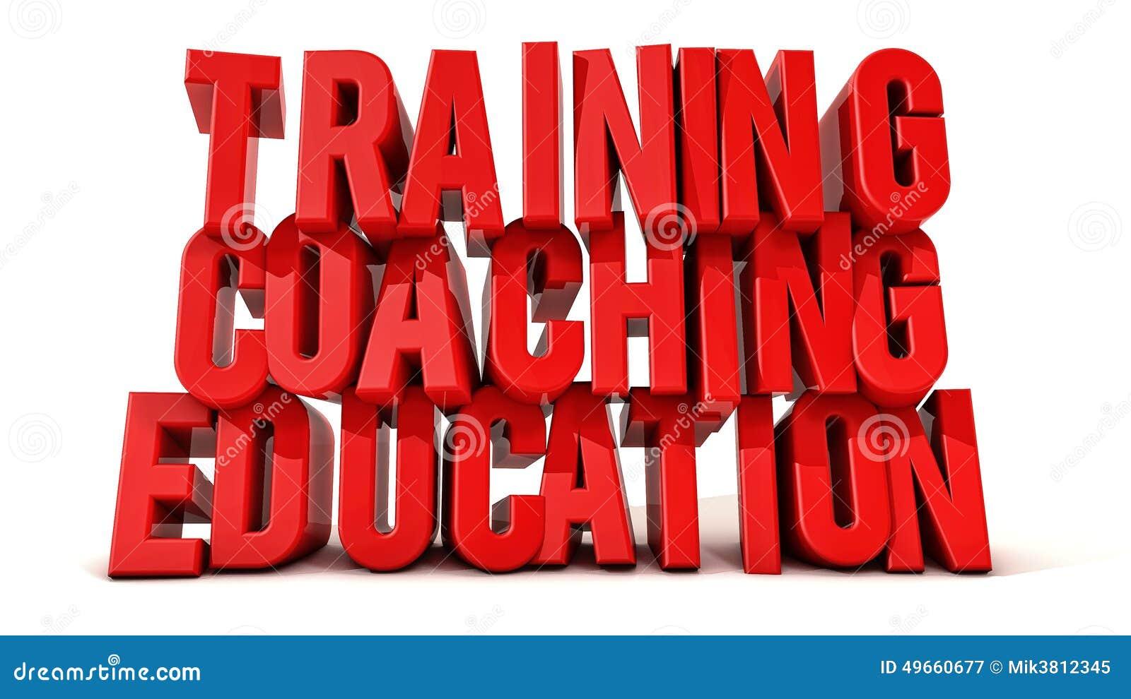 Testo di formazione di istruzione e di preparazione