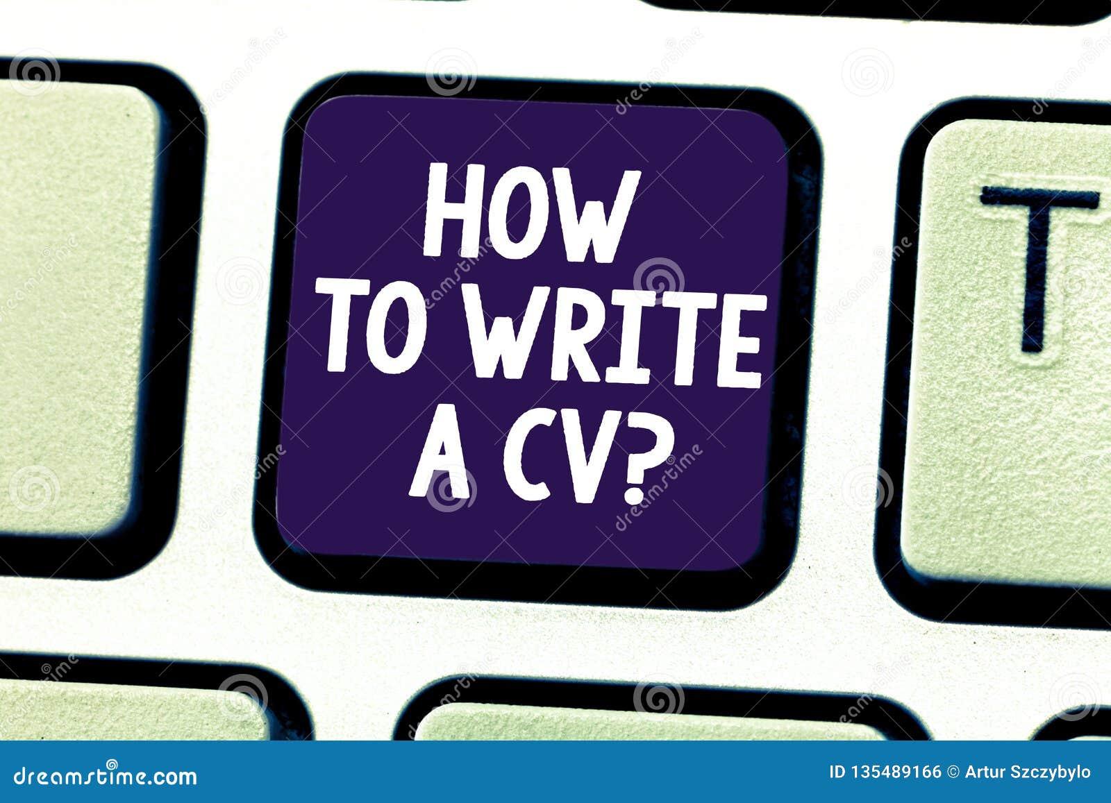 Testo di scrittura di parola come redigere un cv Concetto di affari affinchè raccomandazioni facciano un buon riassunto per otten