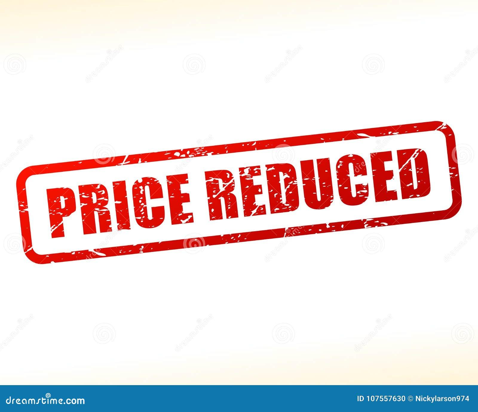 Testo riduttore prezzo attenuato
