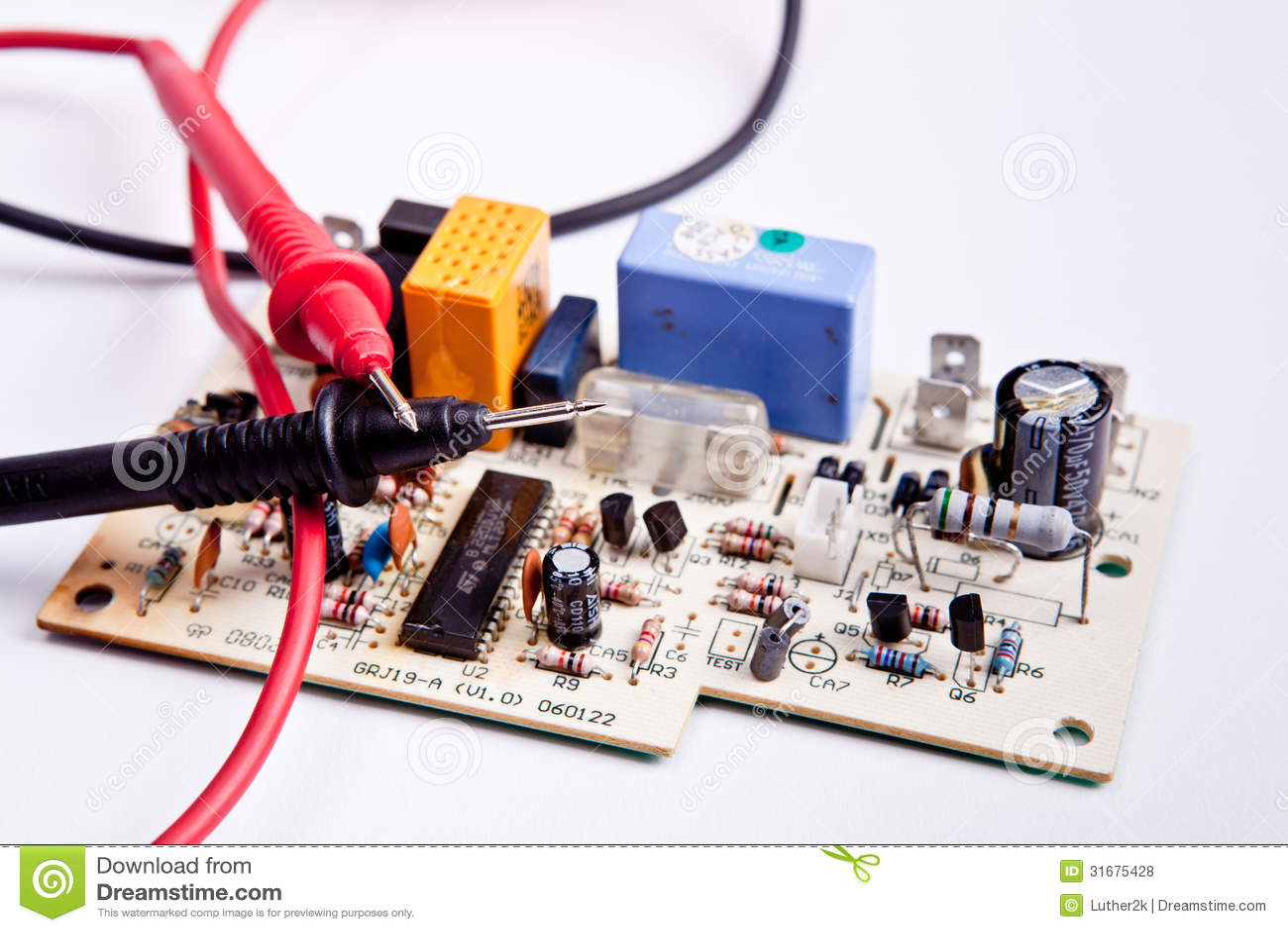Circuit Board Testing Stock Photography Image 20250872