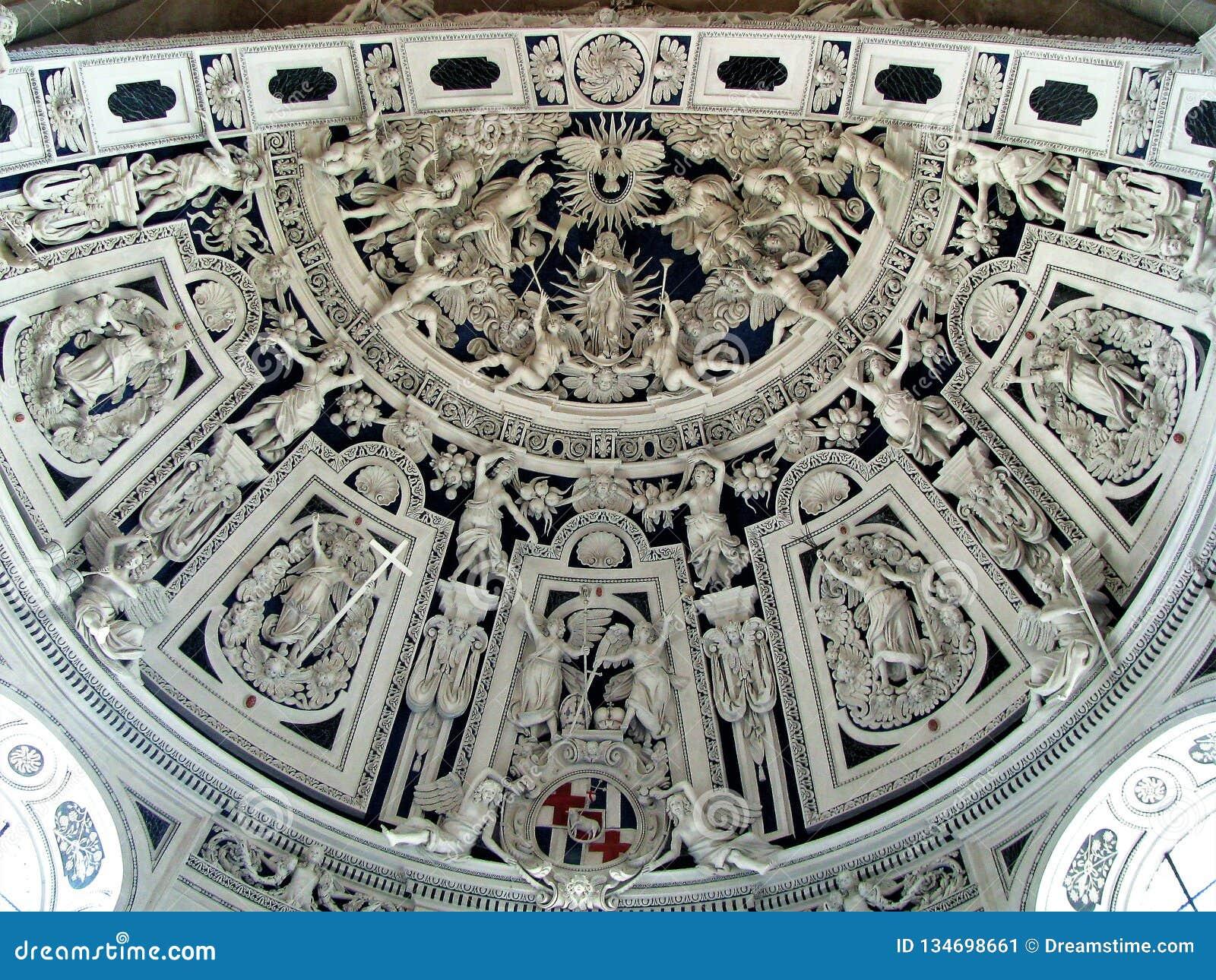 Teto da catedral