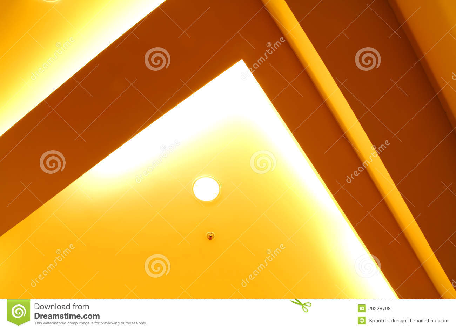 Download Teto iluminado foto de stock. Imagem de indoor, energia - 29228798