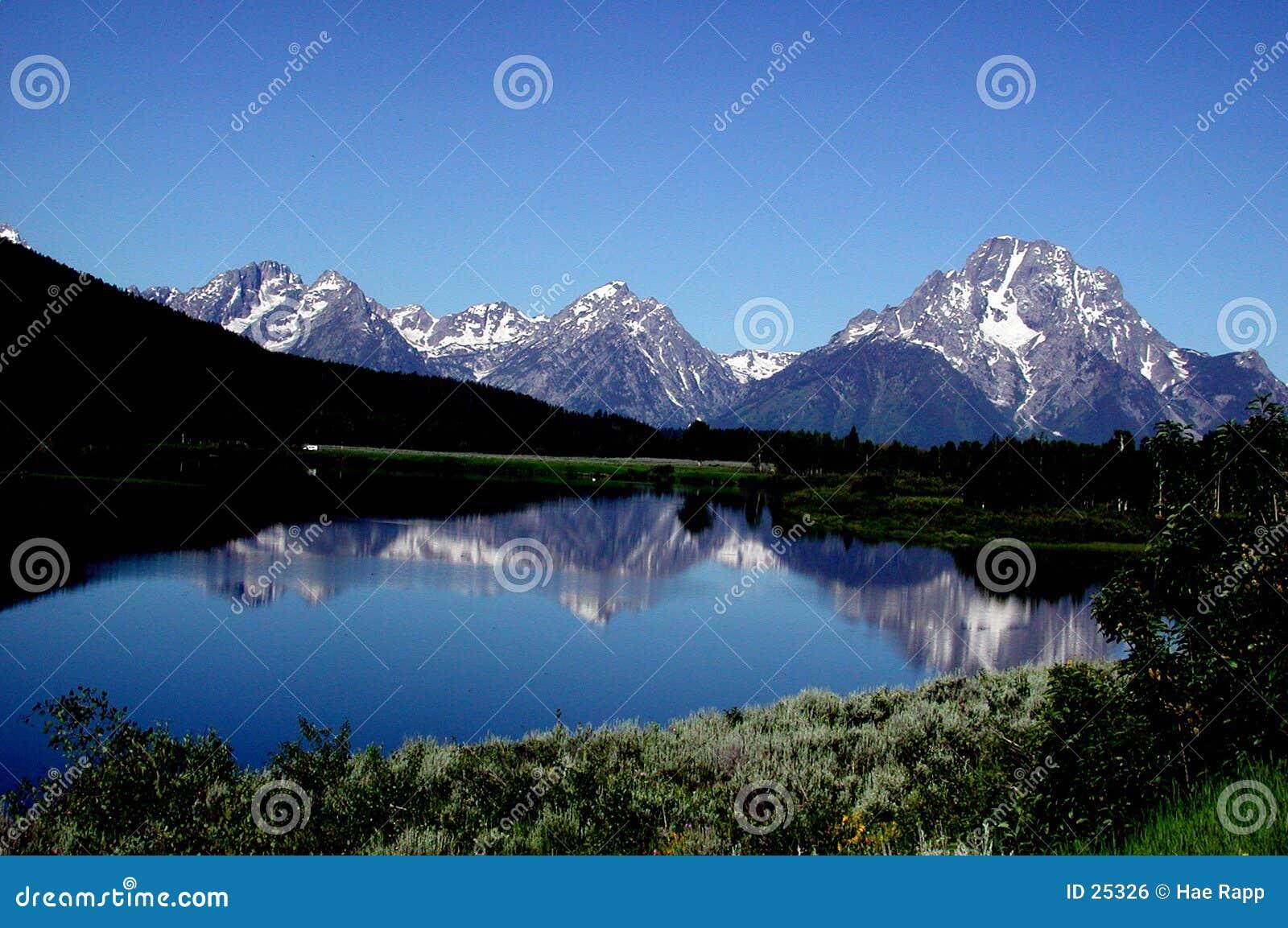 Teton гор