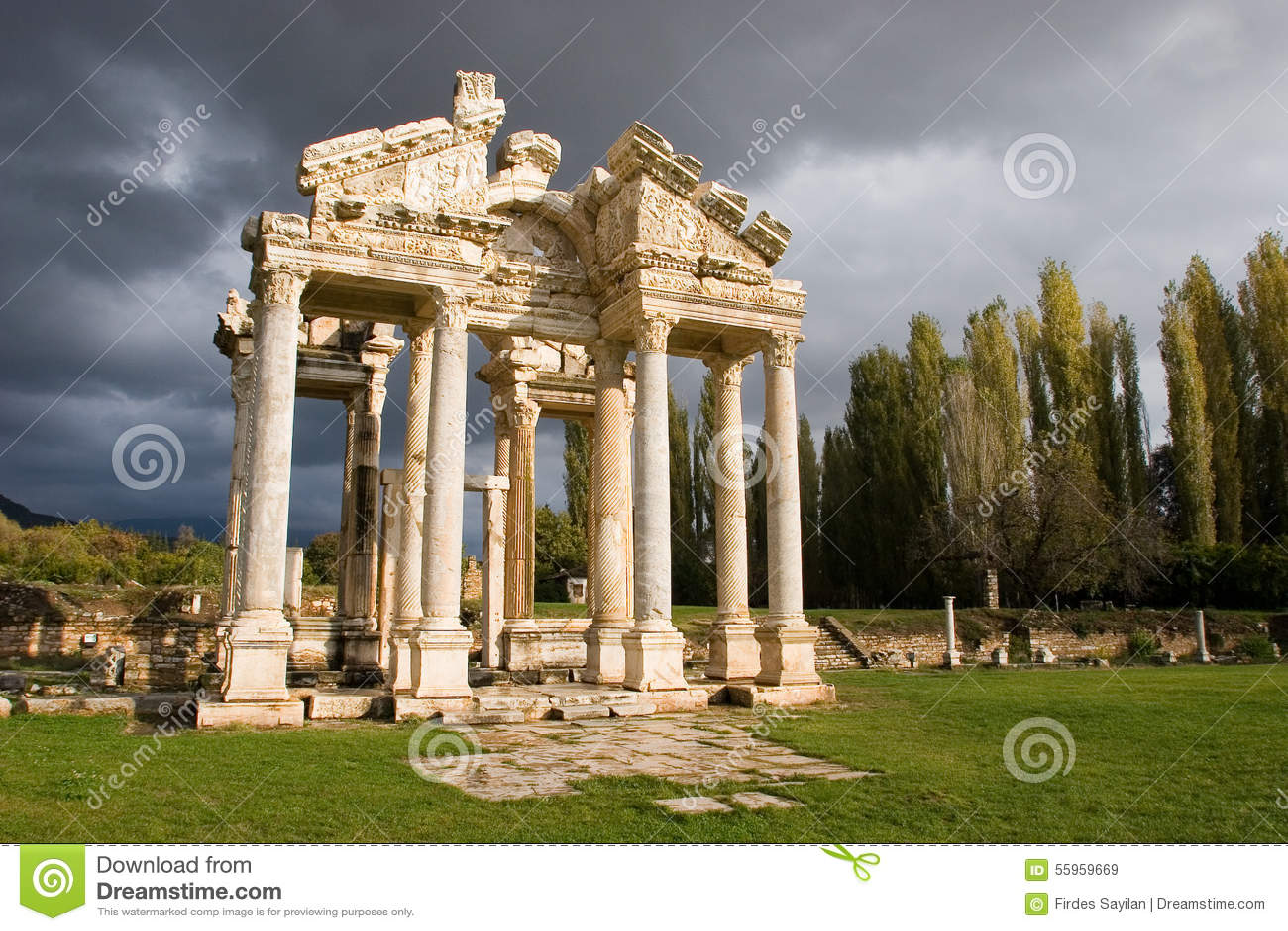 Tetrapylon dos Aphrodisias