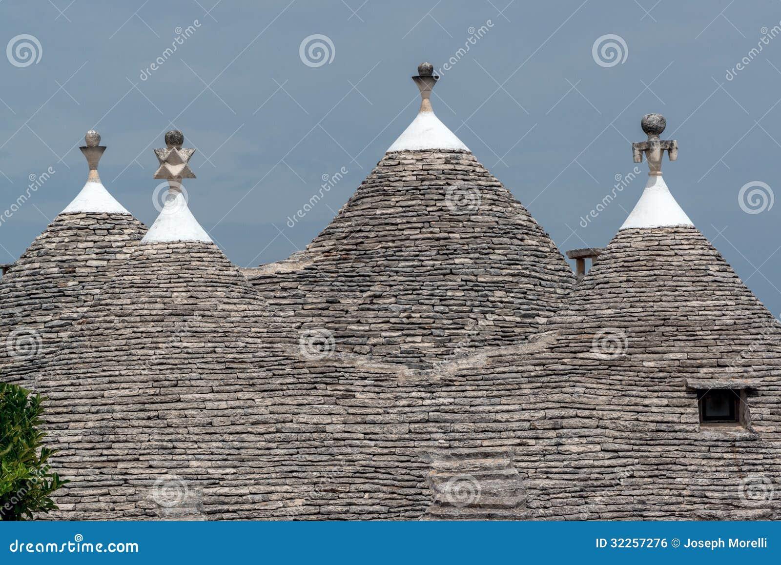 Tetti della casa di trulli fotografia stock immagine di for Programma di disegno della casa libera