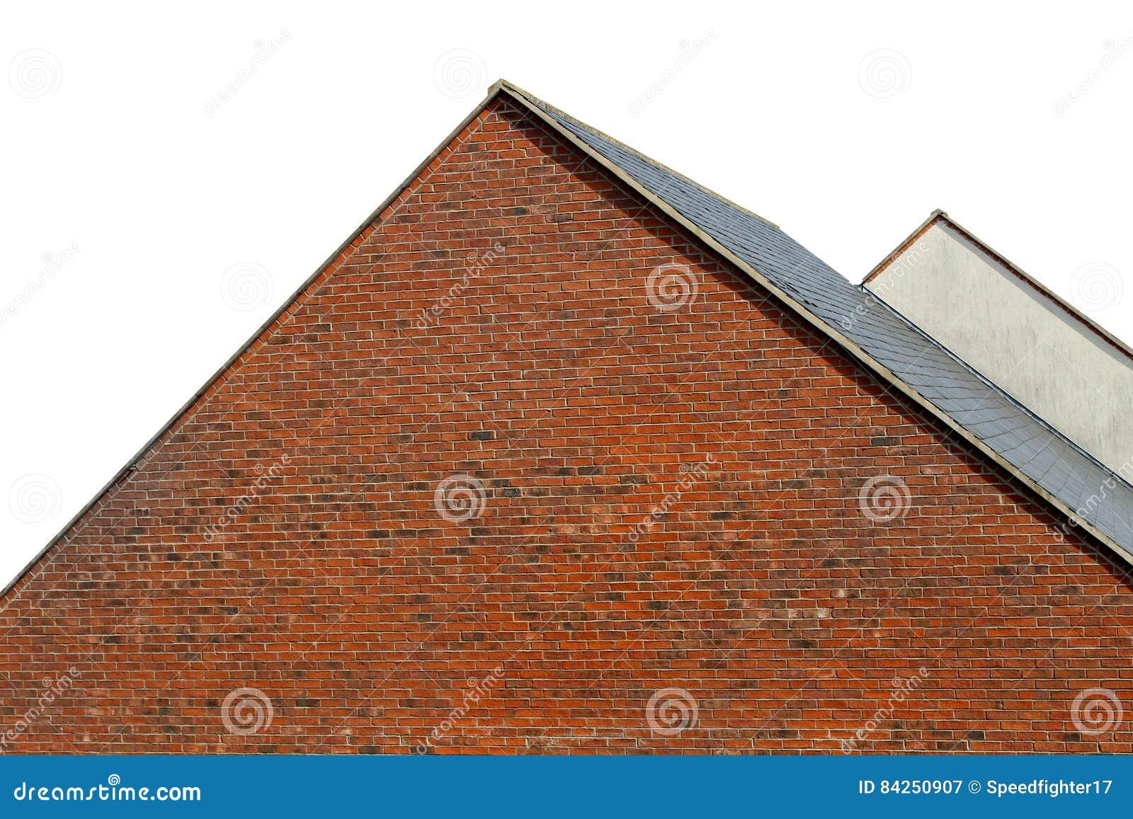 Tetti isolati delle case moderne fotografia stock for Tetti di case moderne