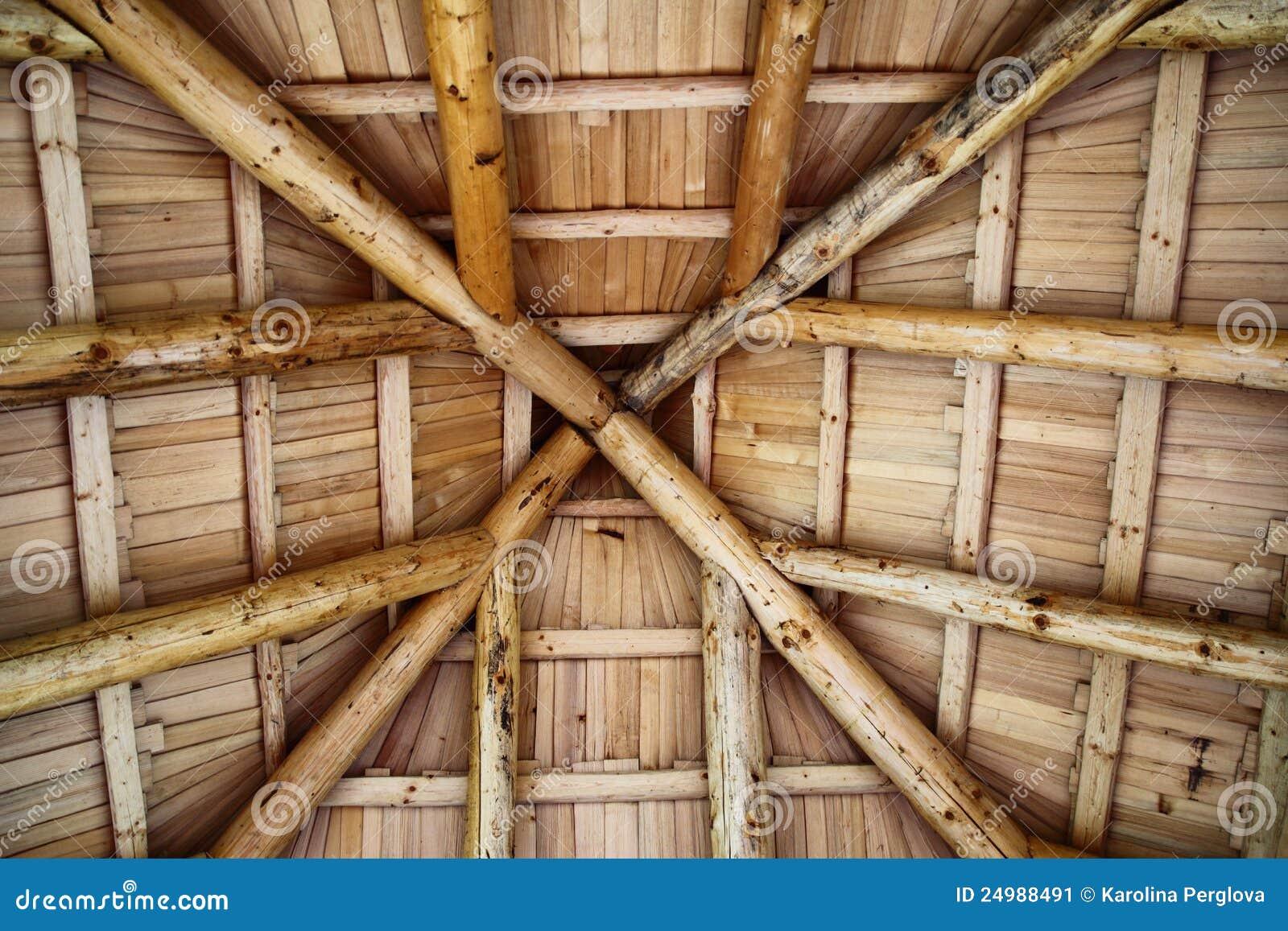 Tetto di legno