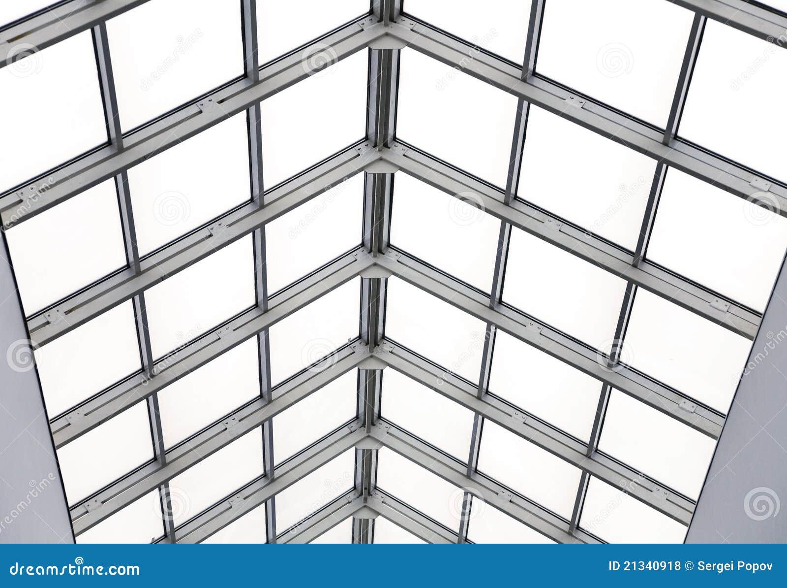 Tetto di vetro fotografia stock immagine di nessuno for Tetto in vetro prezzi
