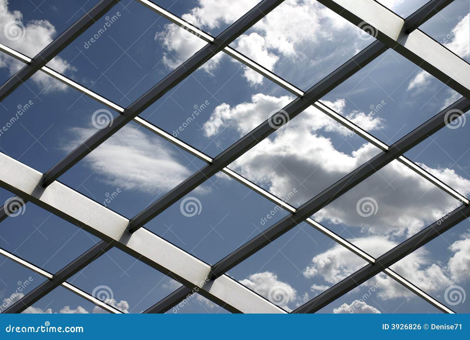 Tetto di vetro immagine stock libera da diritti immagine for Tetto in vetro prezzi