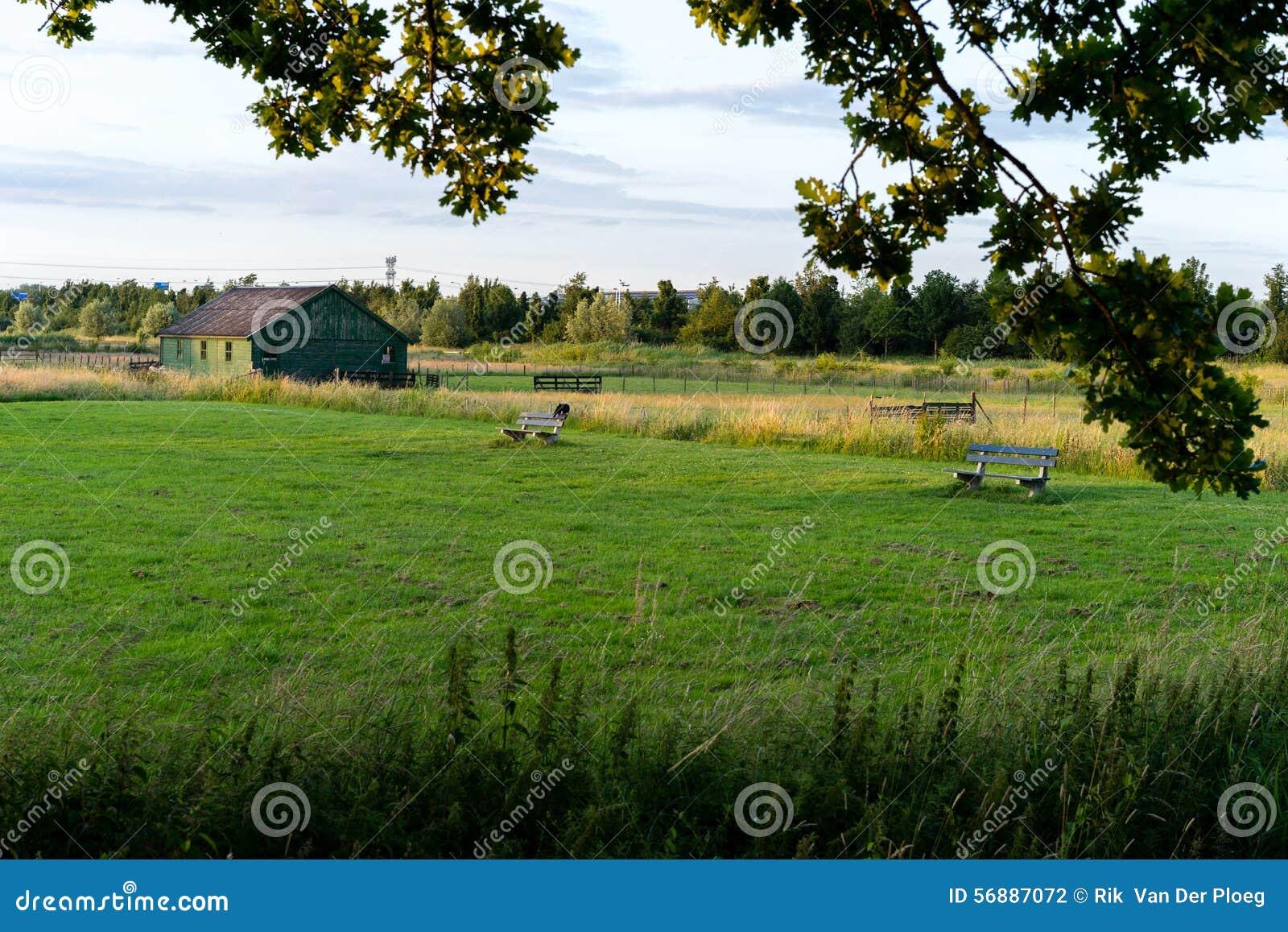 Tettoia su terreno coltivabile
