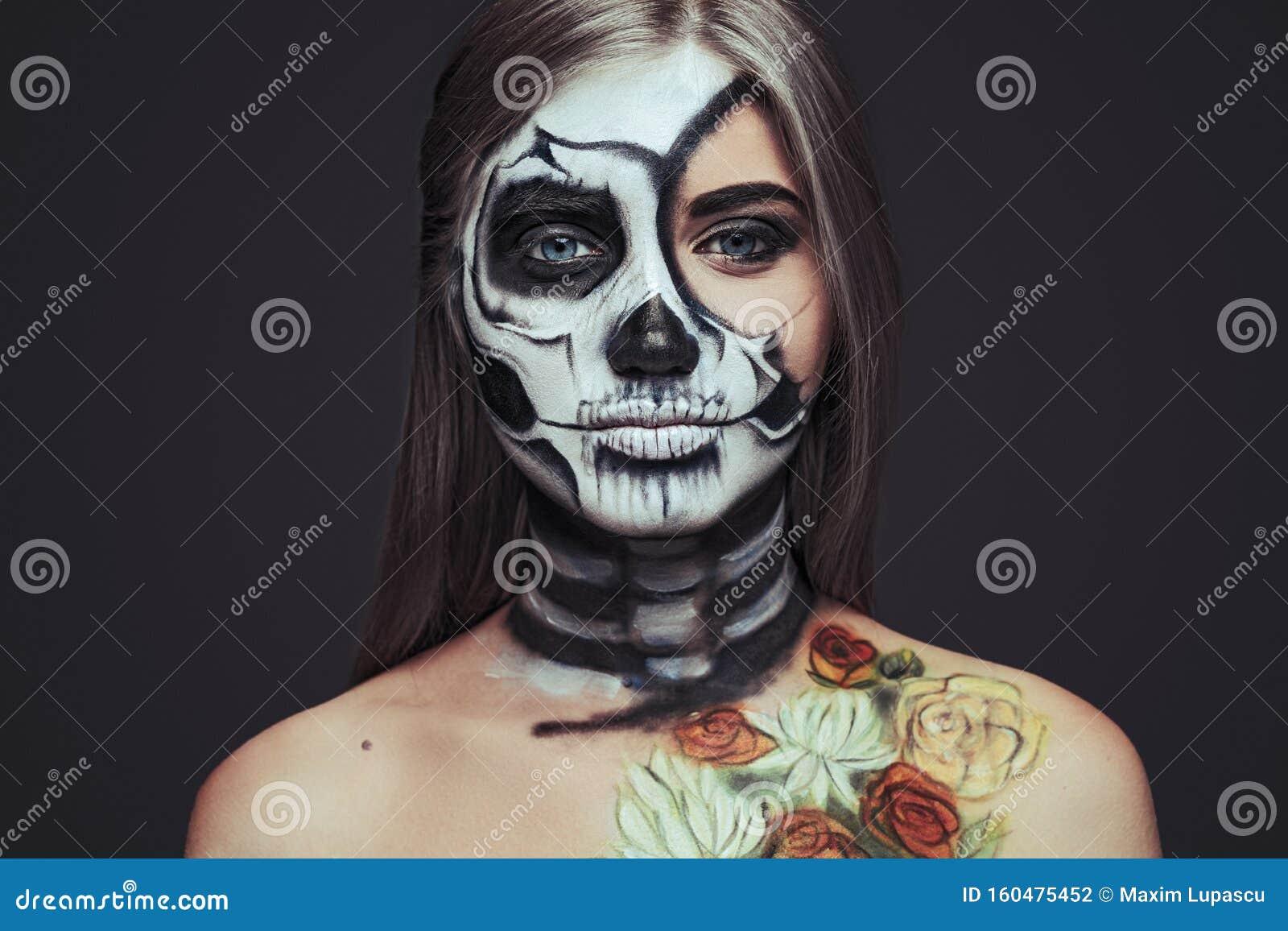 Weiblicher teufel schminken