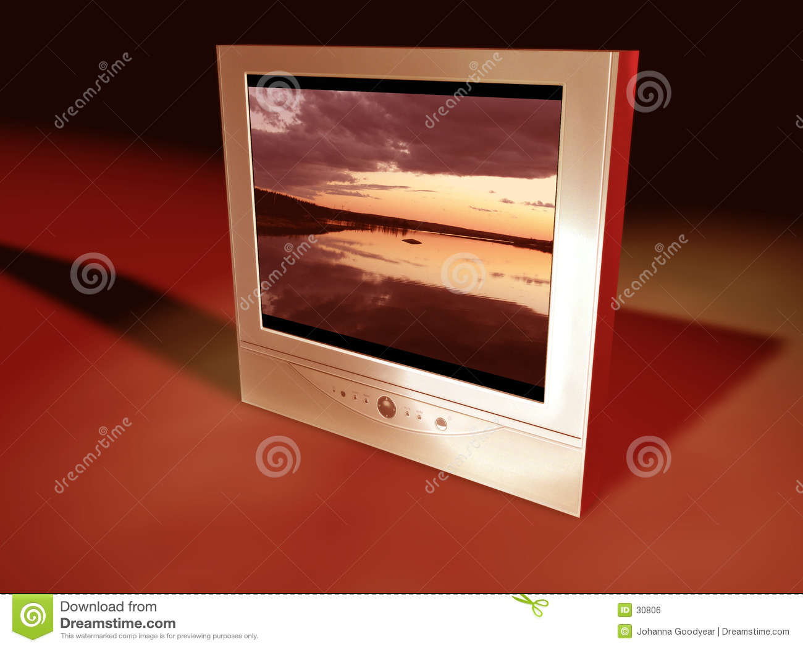 Tevê do écran plano