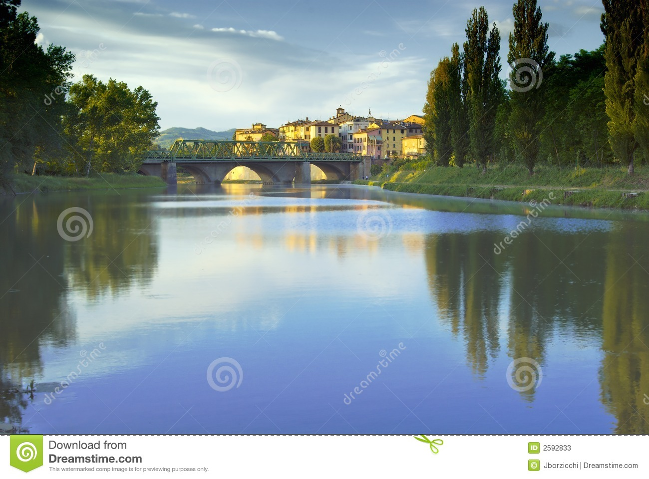Tevere, Ombrie