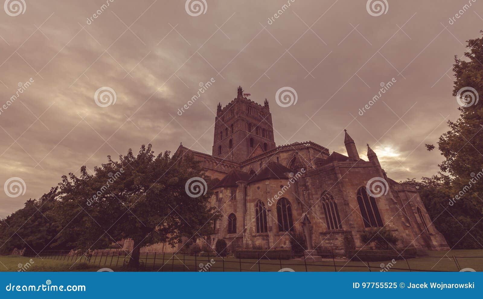 Tewkesbury Abbey South View F