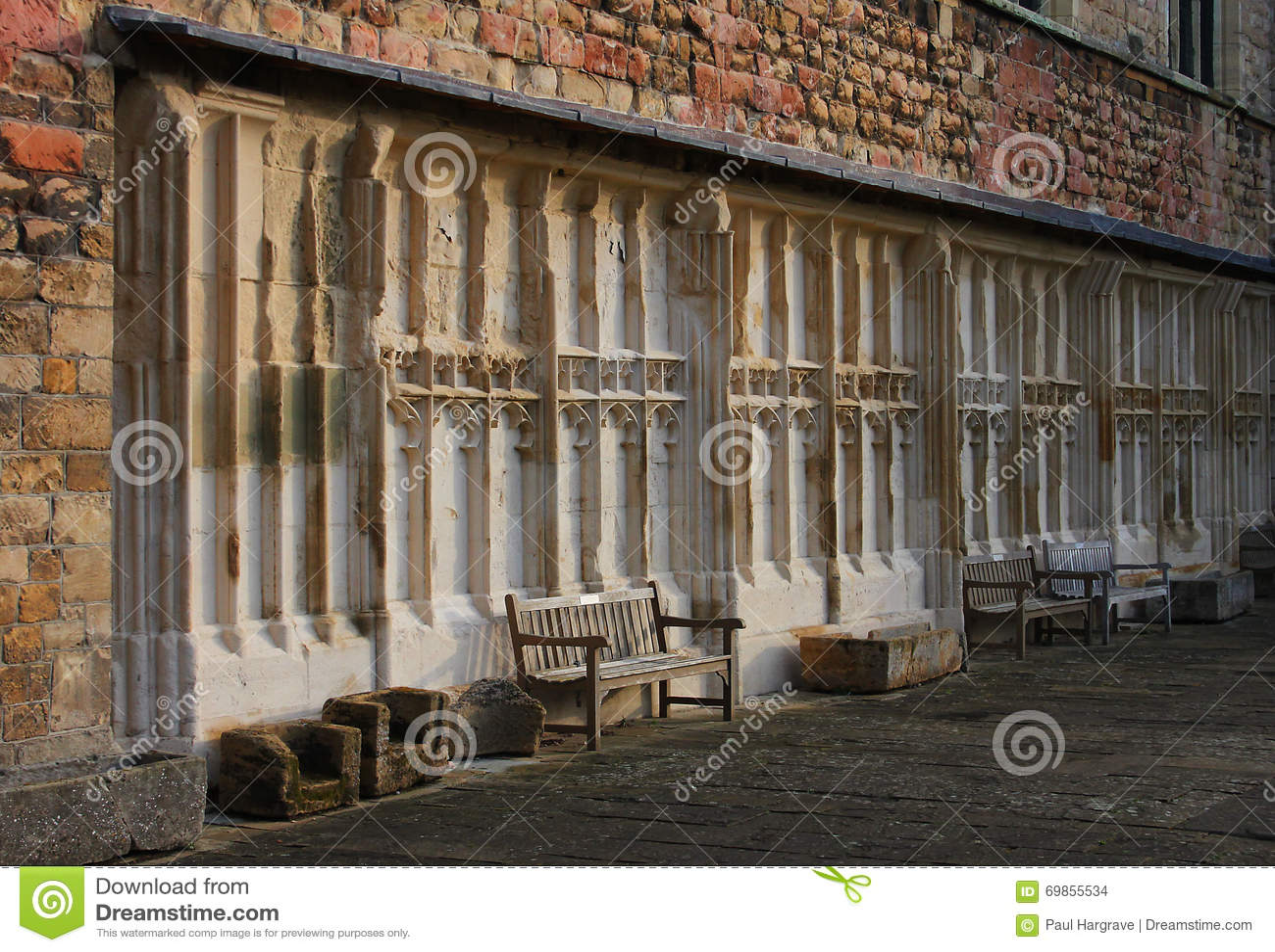Tewkesburyabdij, Engeland, Architecturaal detail