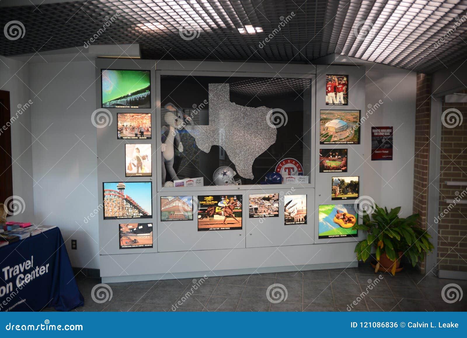 Texarkana Texas Welcome Center Display