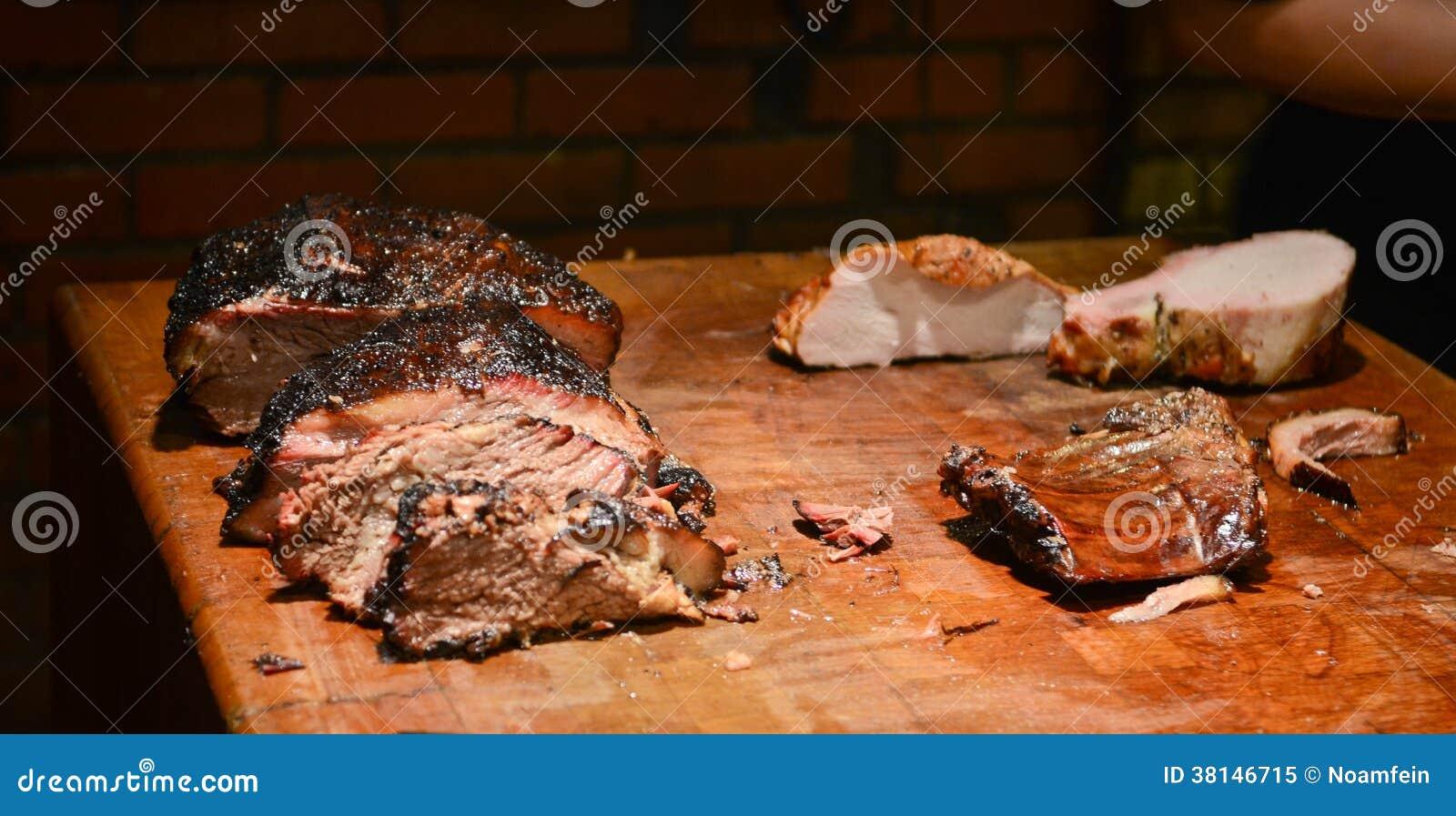 Texas BBQ-kött