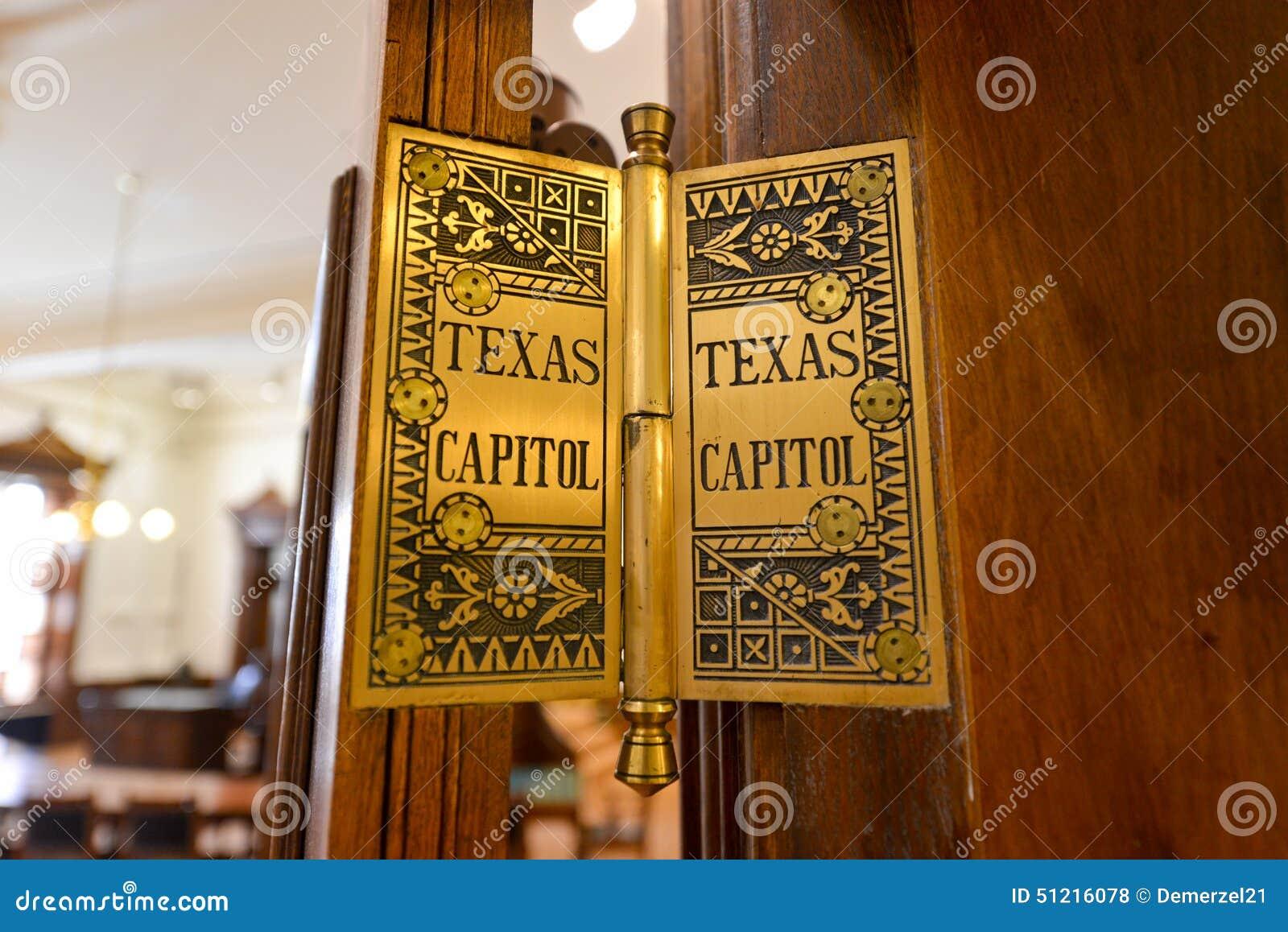 Texas Capitol Hinge