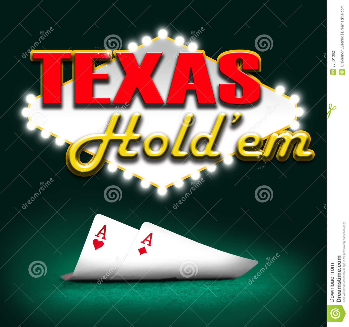 Texas Hold'em Stock Photography - Image: 35401362