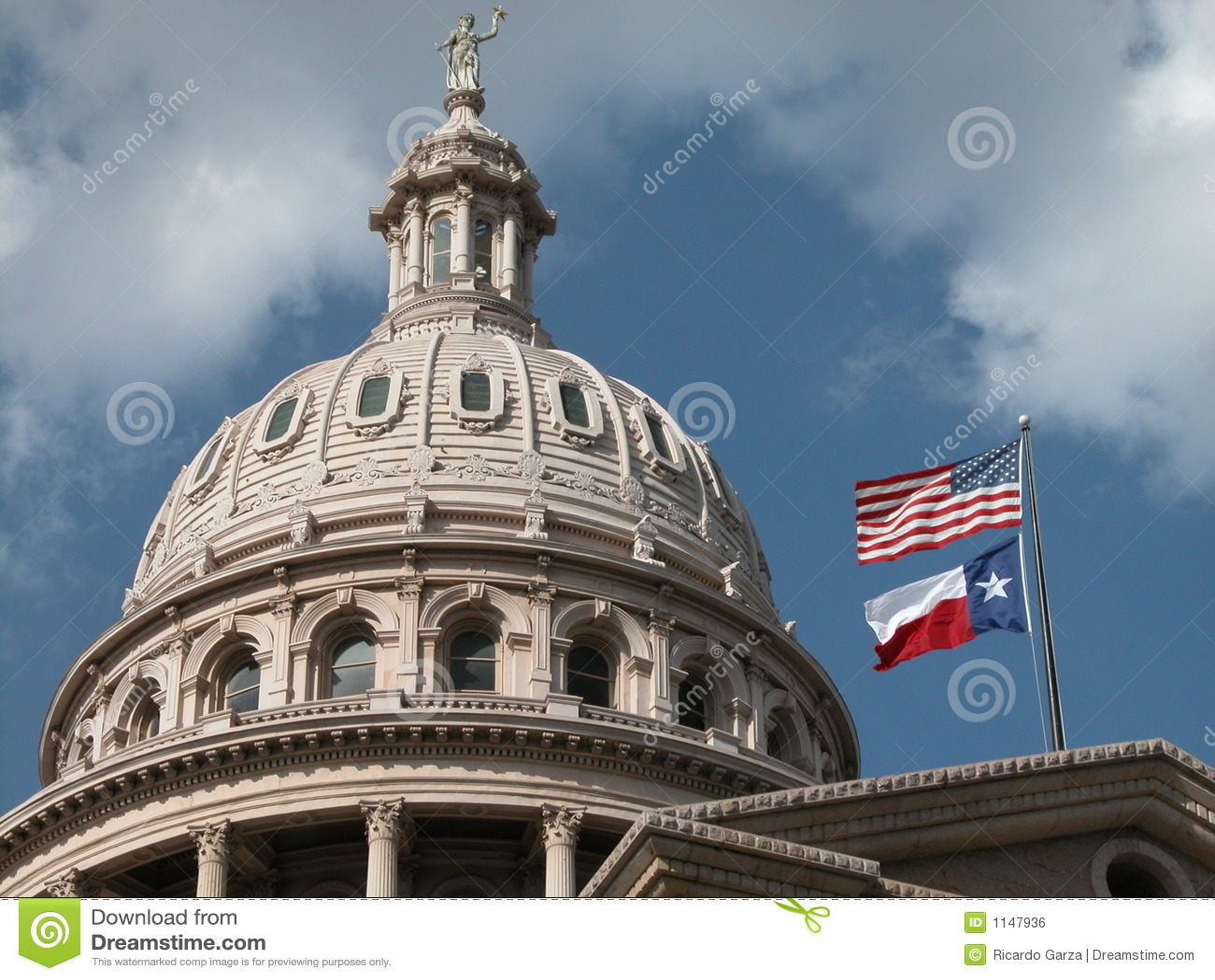 Texas-Kapitol-Haubeäußeres