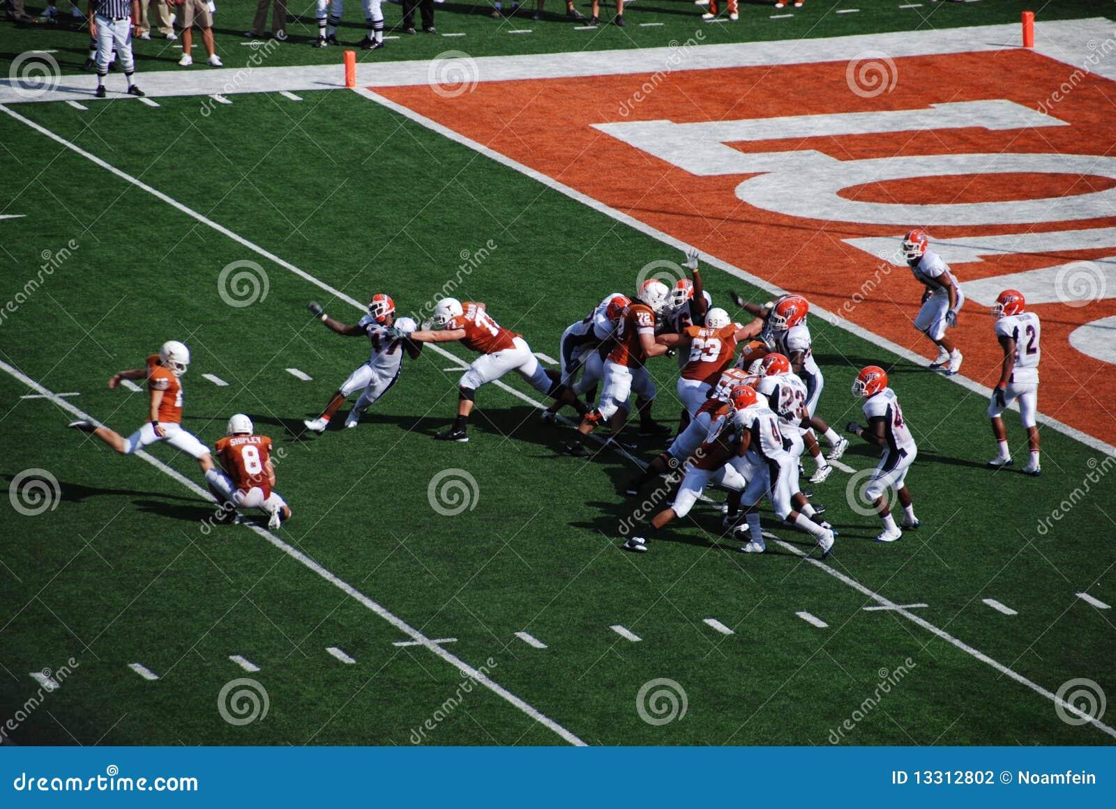 Texas Longhorns College Football Game Editorial